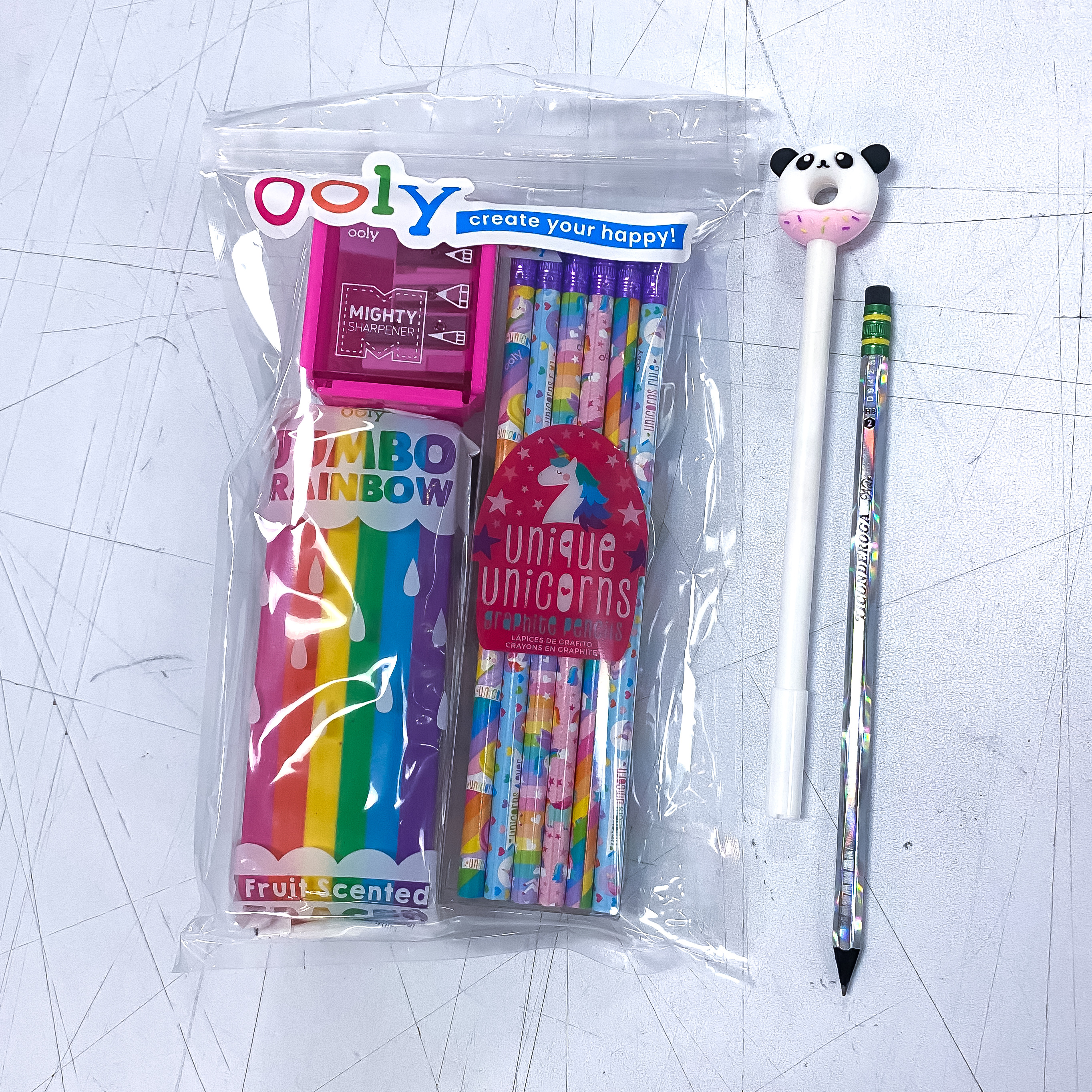 Cute Little Rainbow Unicorn Kit