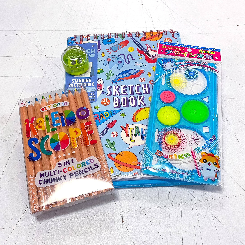Kaleidoscope Colored Pencil Kit!