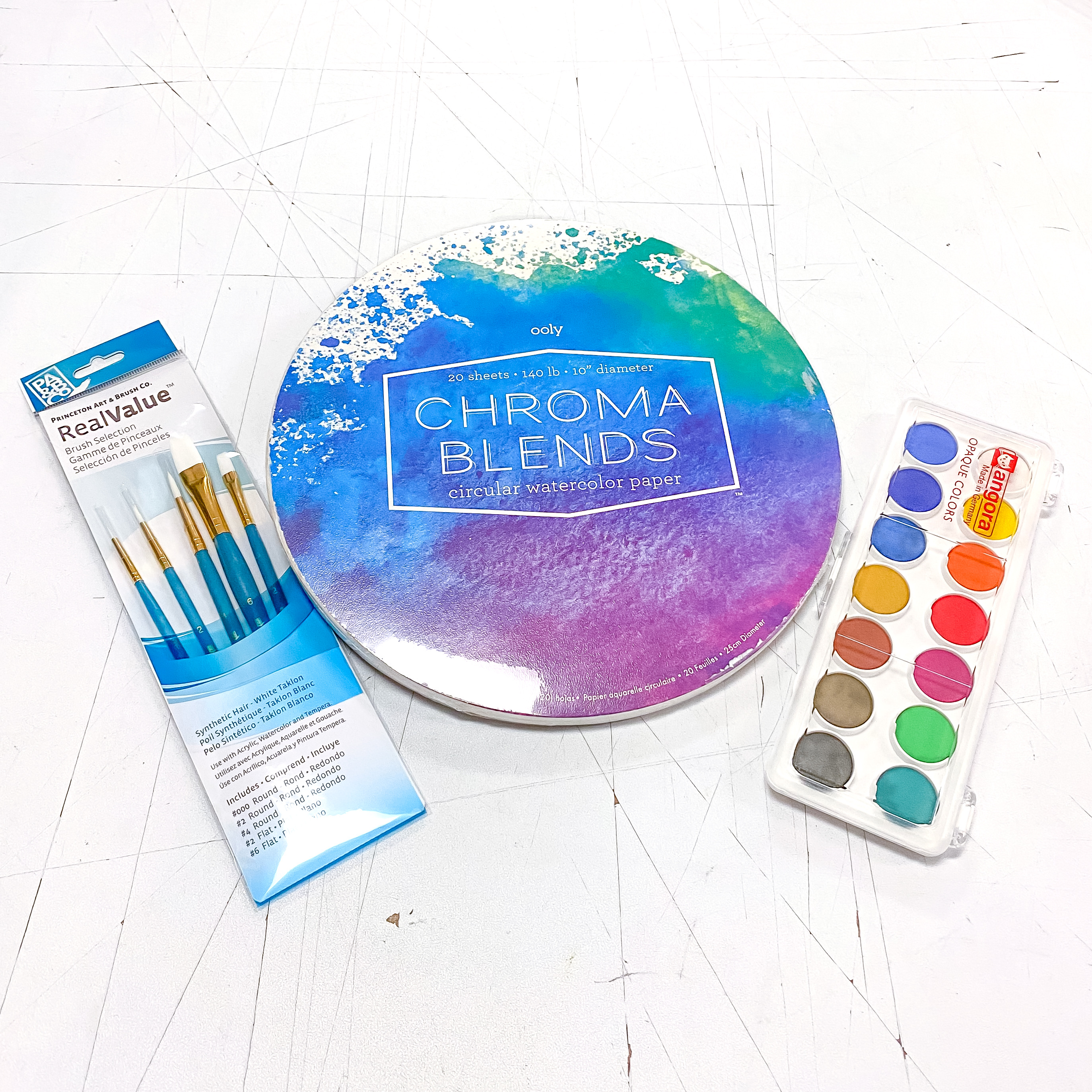 Round Watercolor Kit!