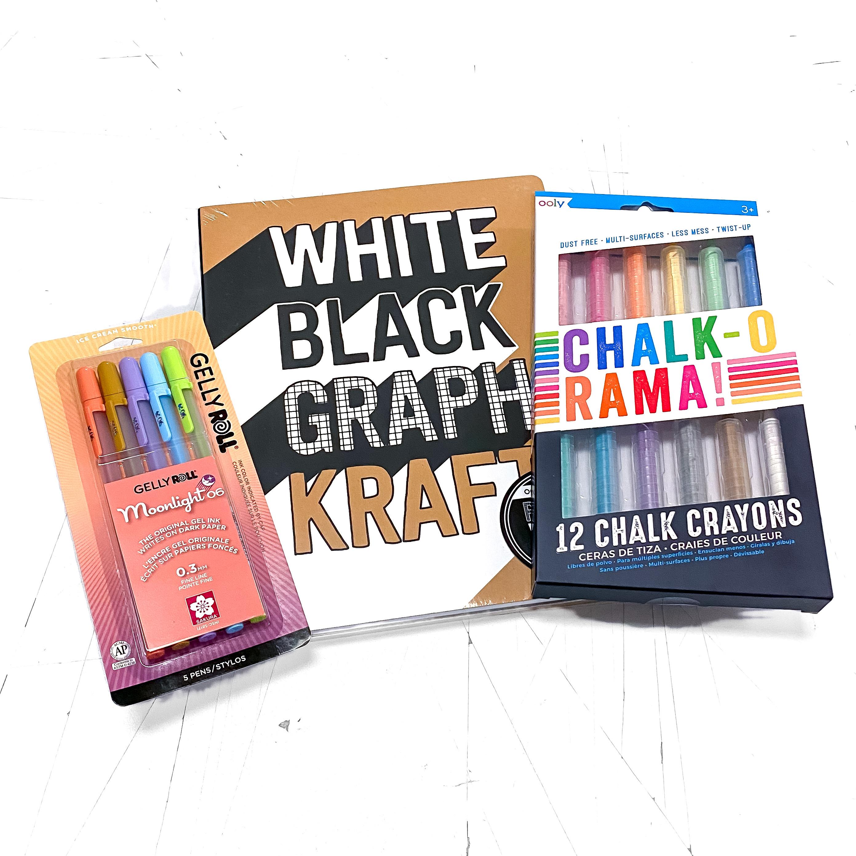 The White Black Graph Kraft Kit!