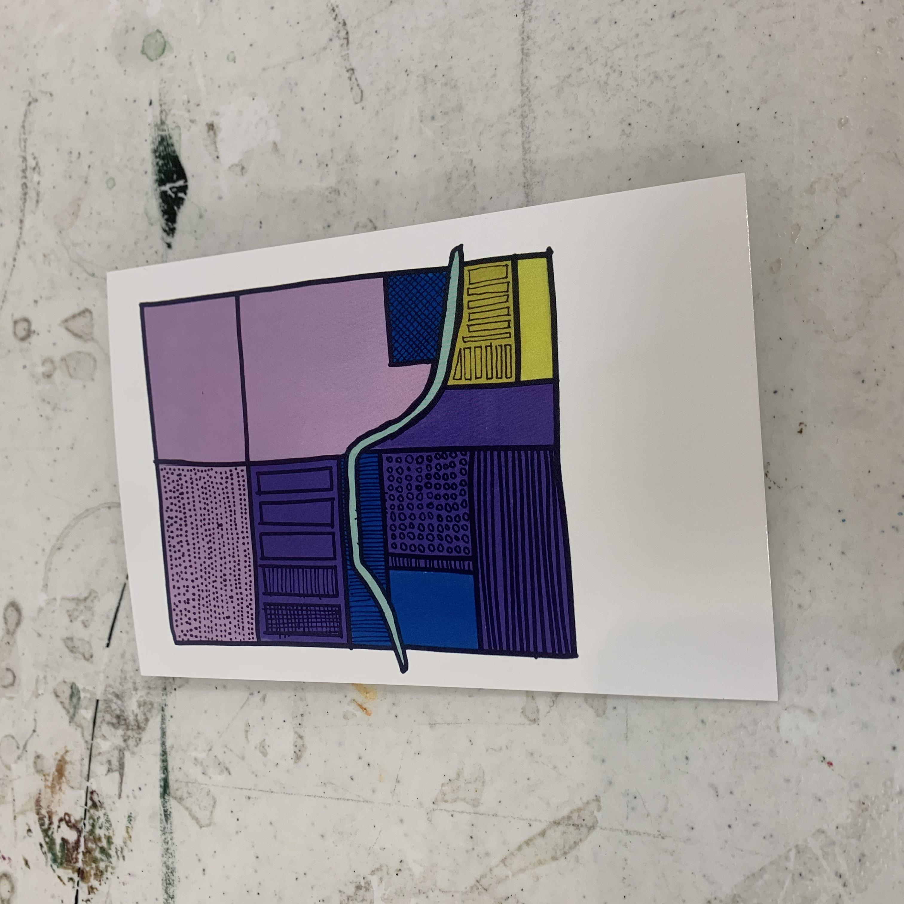 K Hieronymus W, Local Artist Postcards