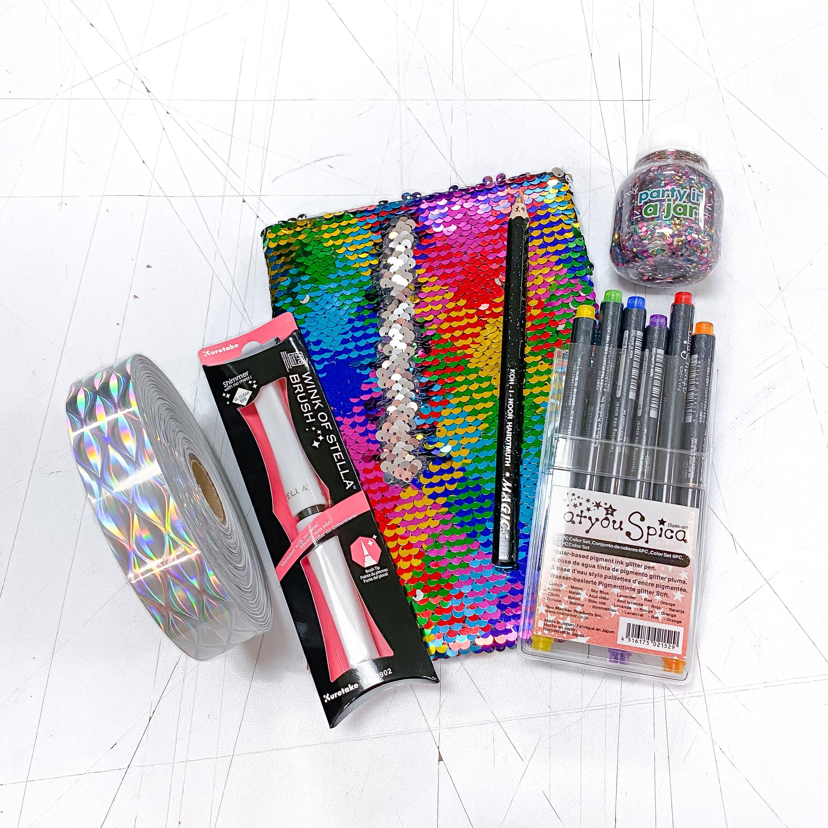 The ULTIMATE Glitter Sparkle Rainbow Kit!