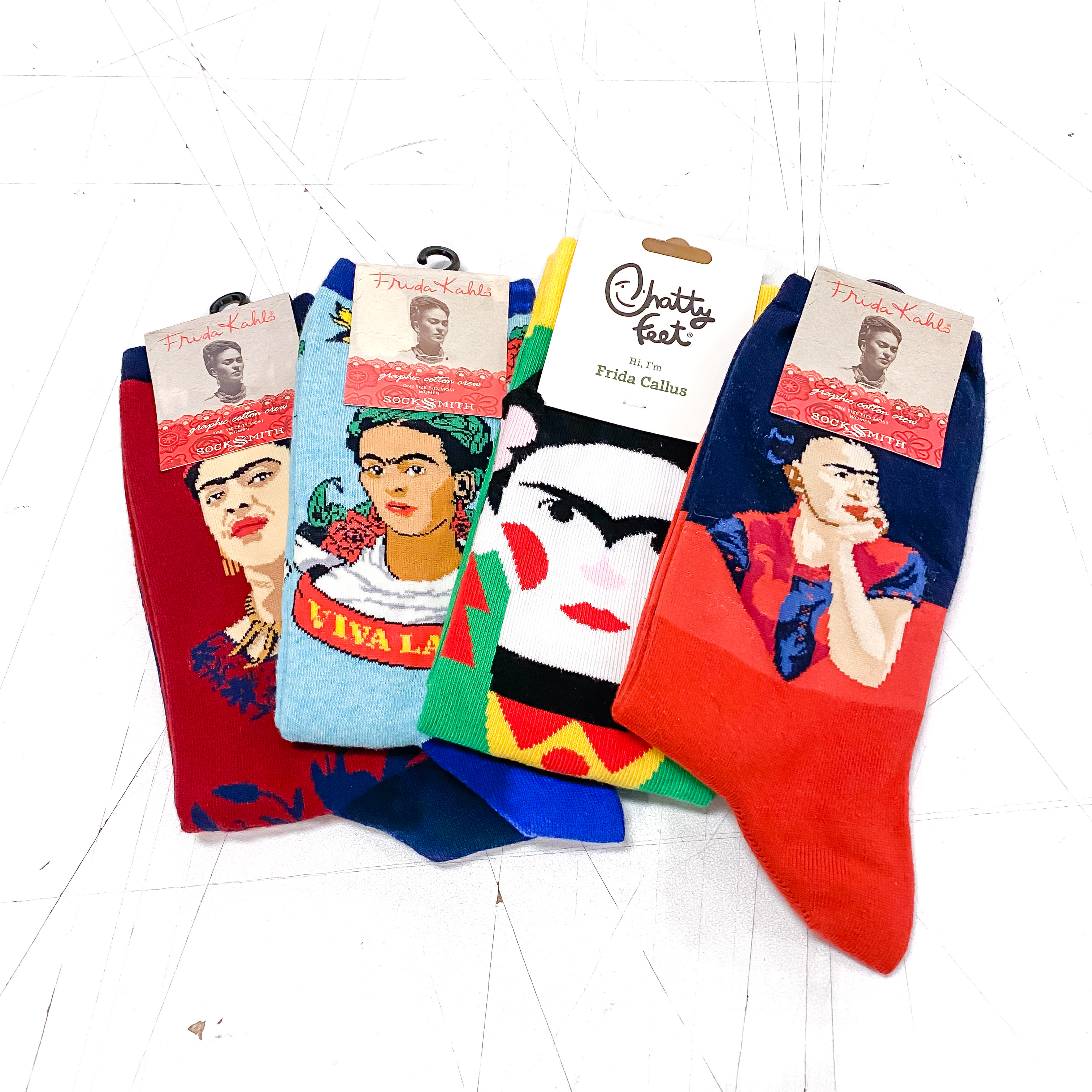 All of the Frida Socks