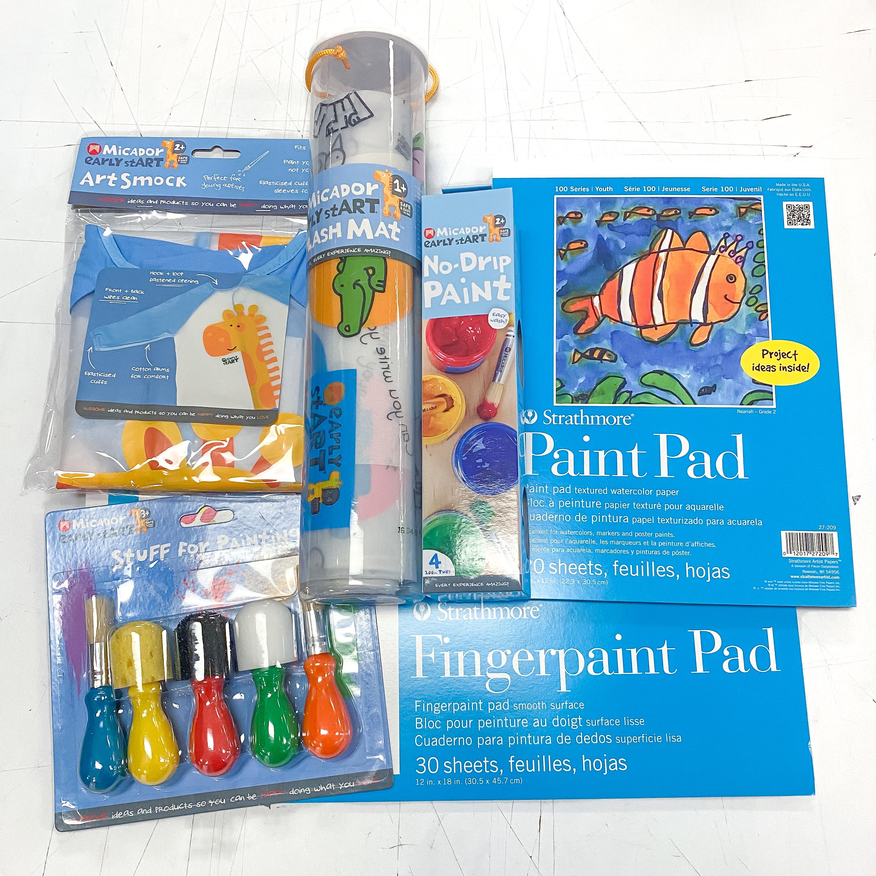 The Ultimate Kiddo Paint Kit
