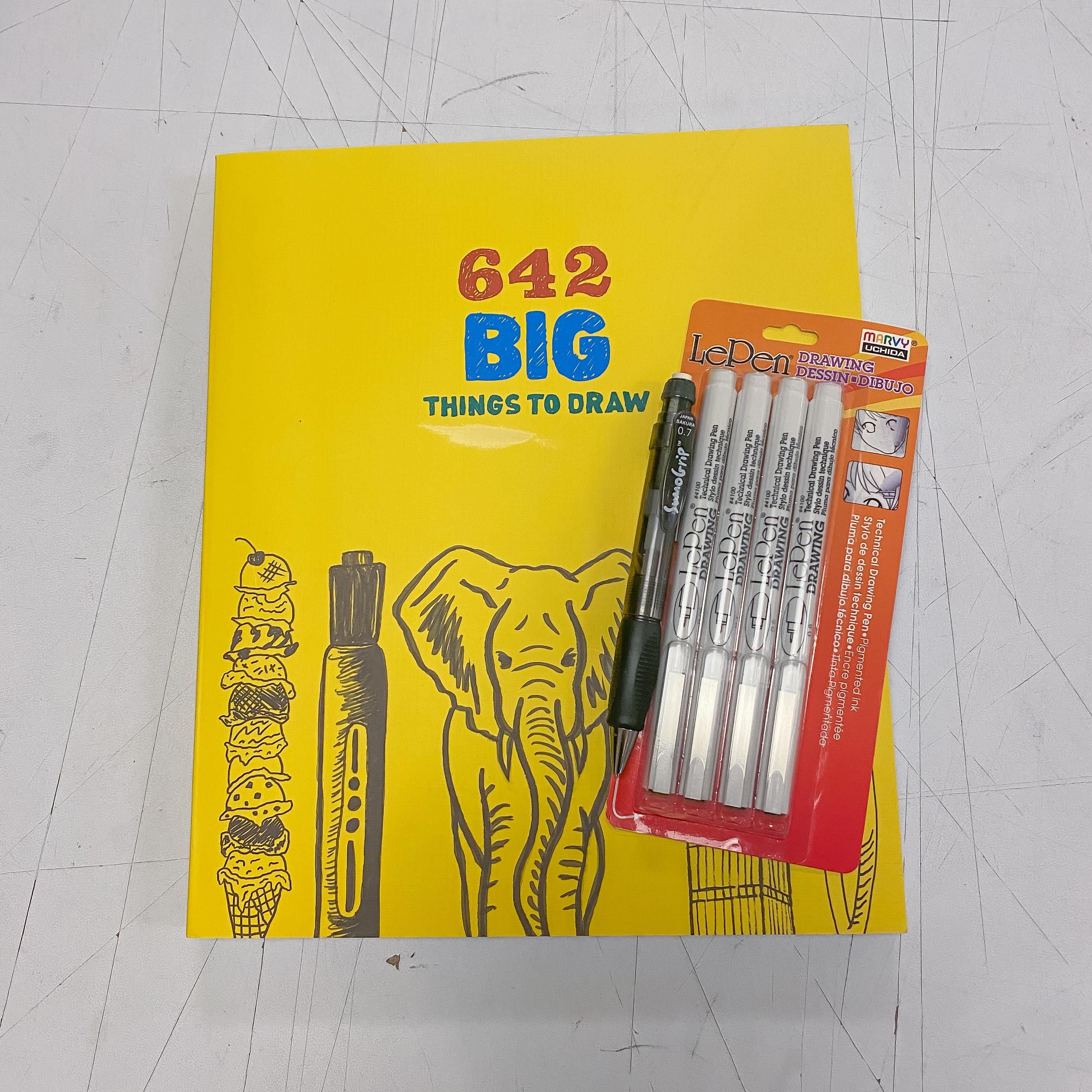 642 Big Things to Draw Kit