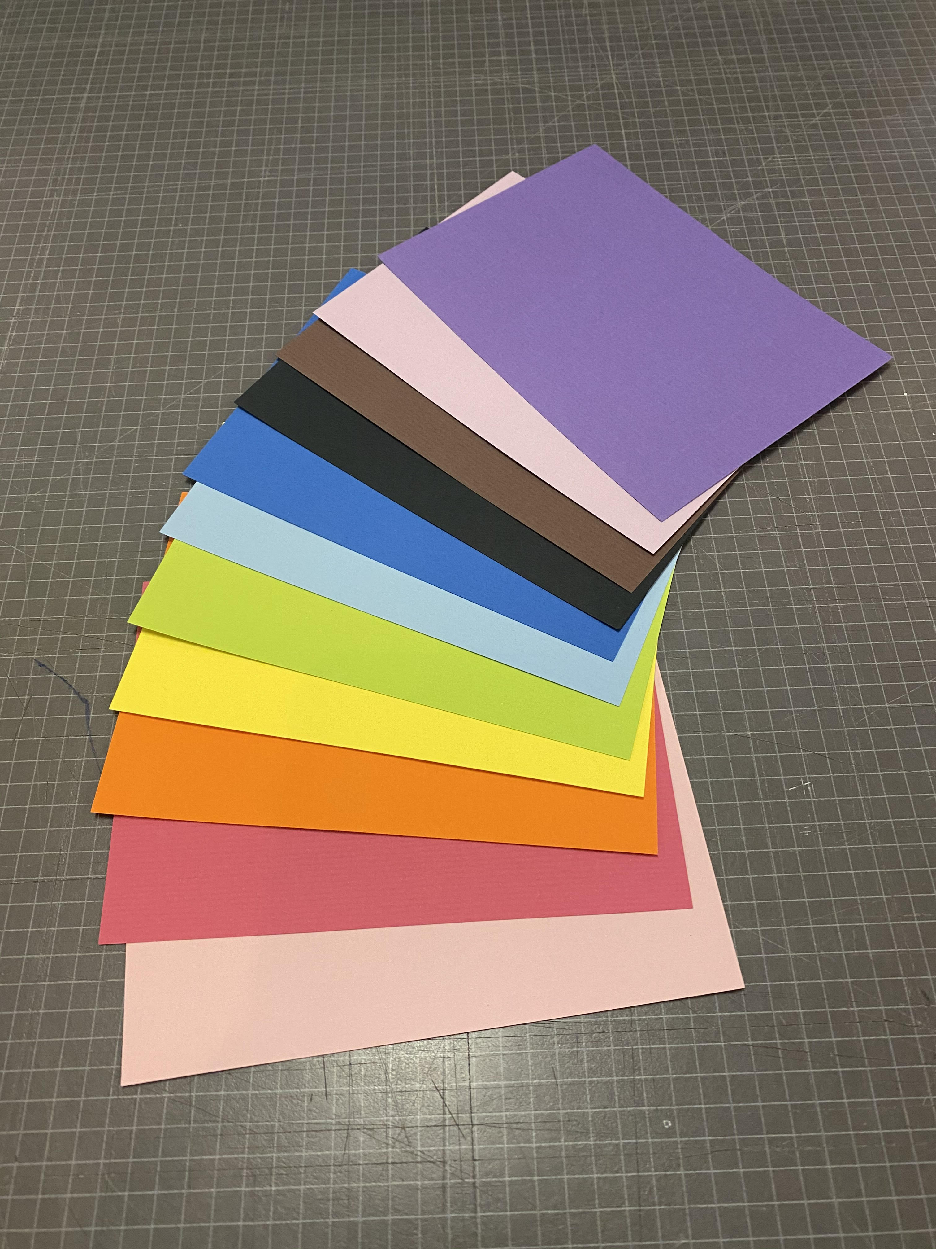 Rainbow DIY Postcard Kit