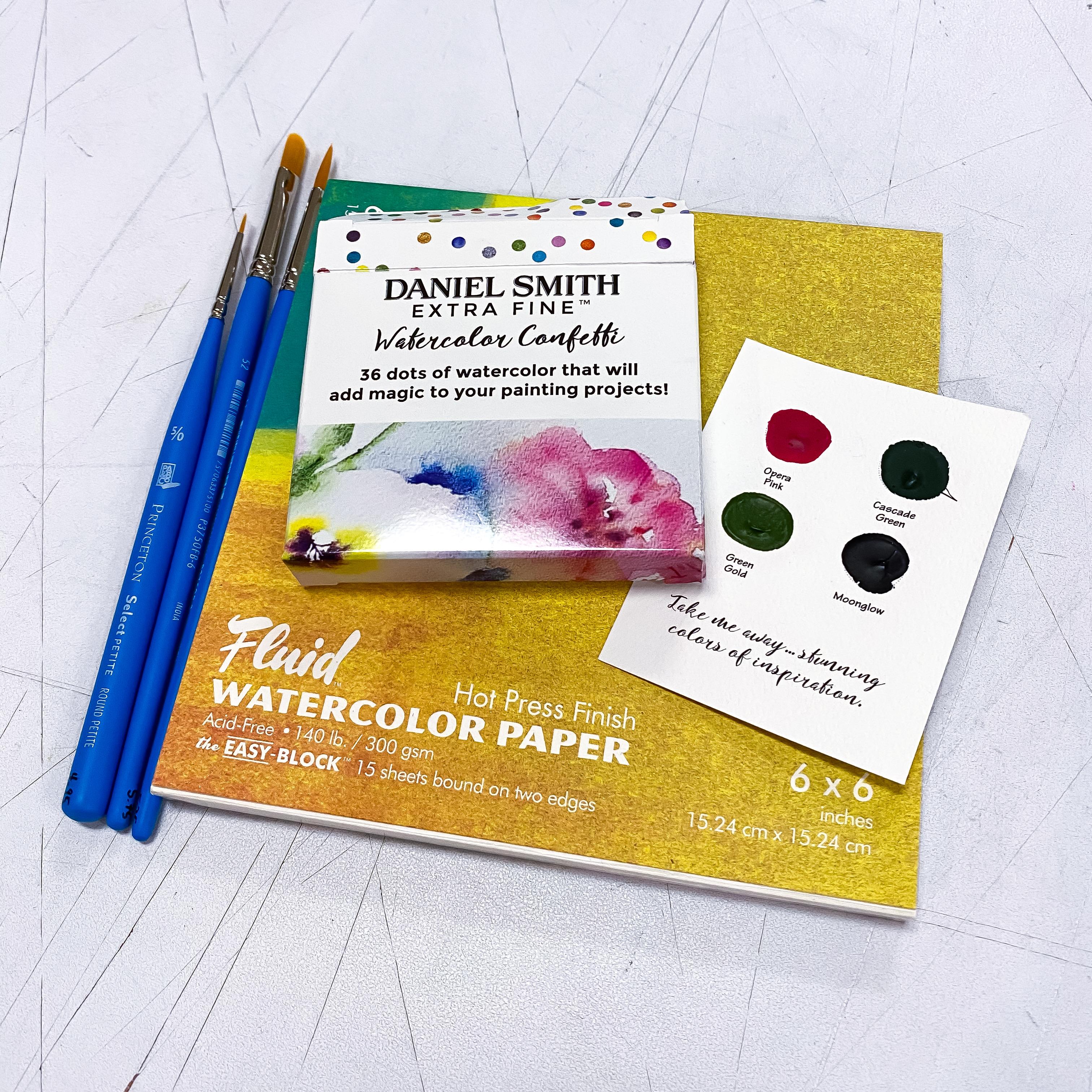 The Little Watercolor Confetti Kit