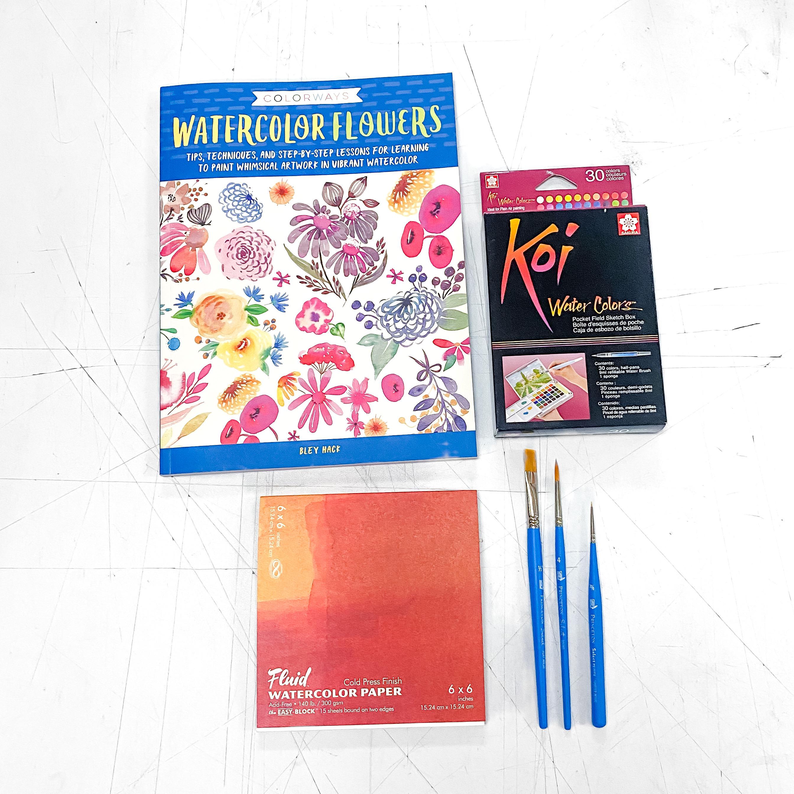 Watercolor Education Kit