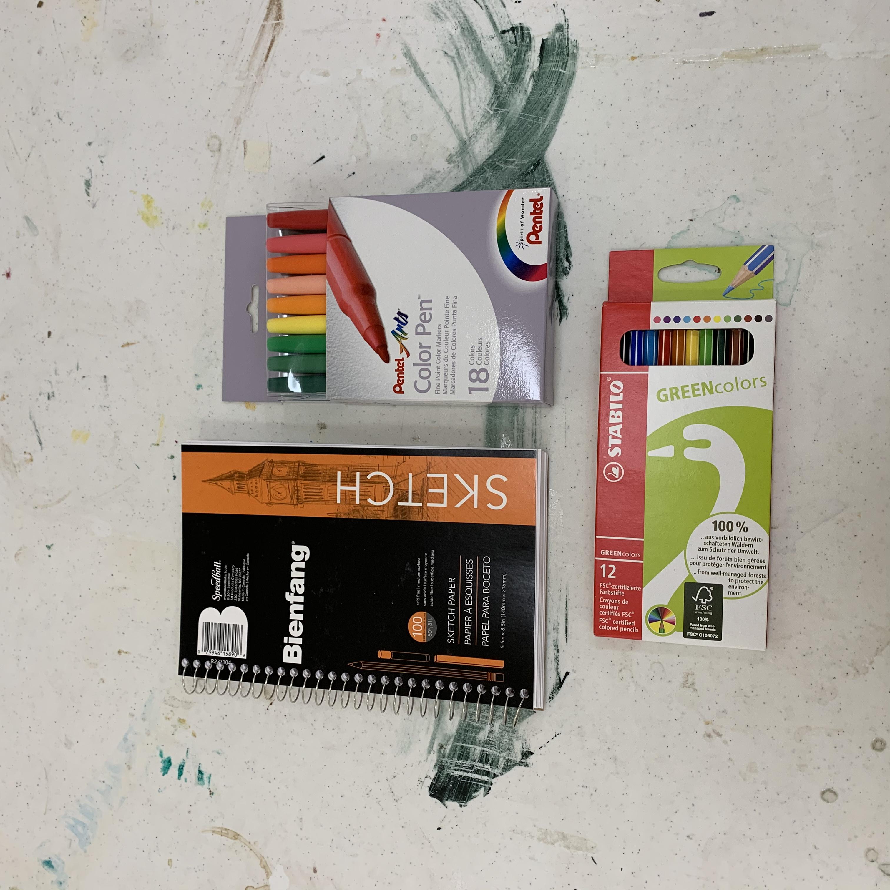 Rainbow Sketchy Business Kit
