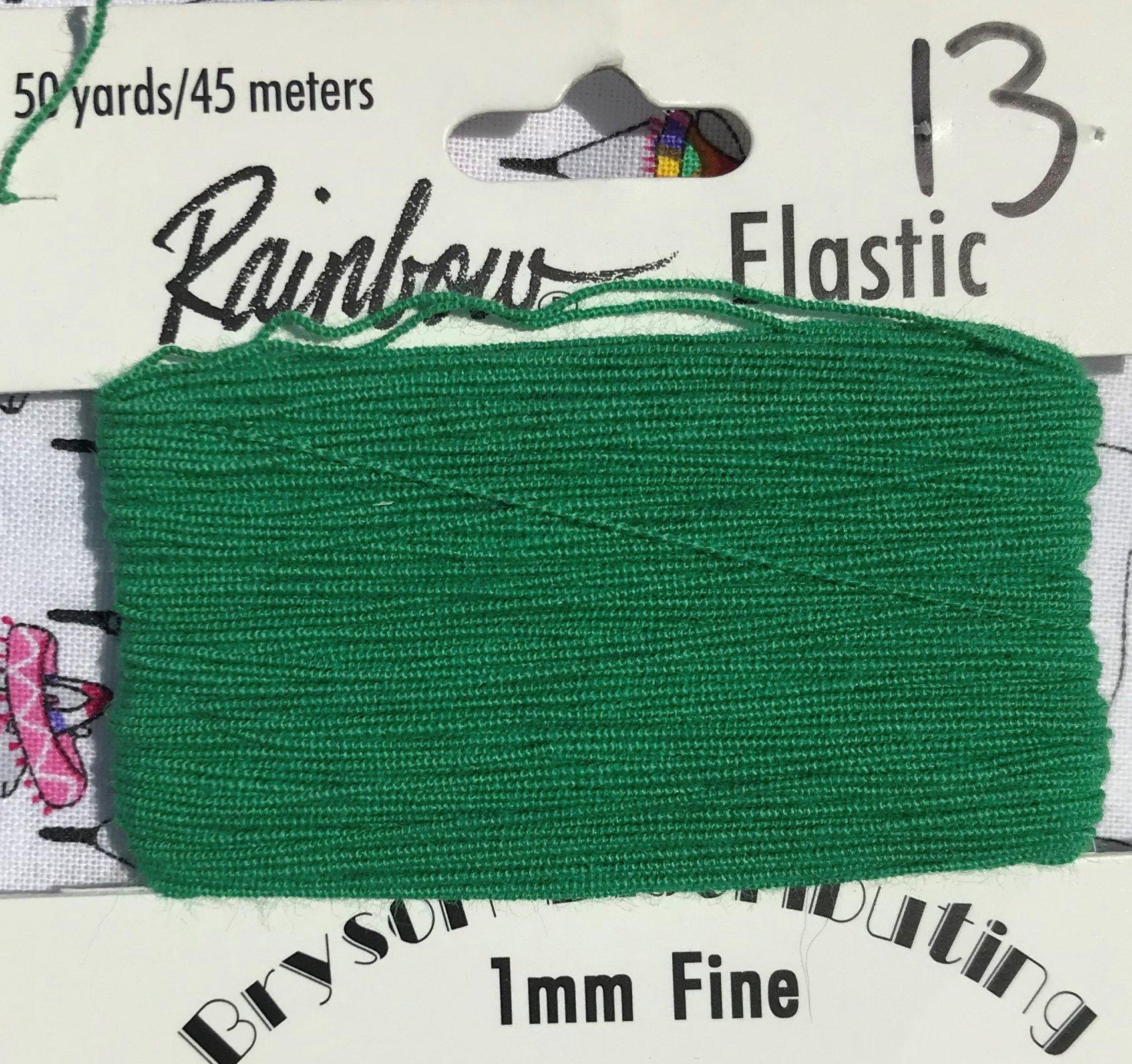 Grass, 1mm Fine-50y Elastic