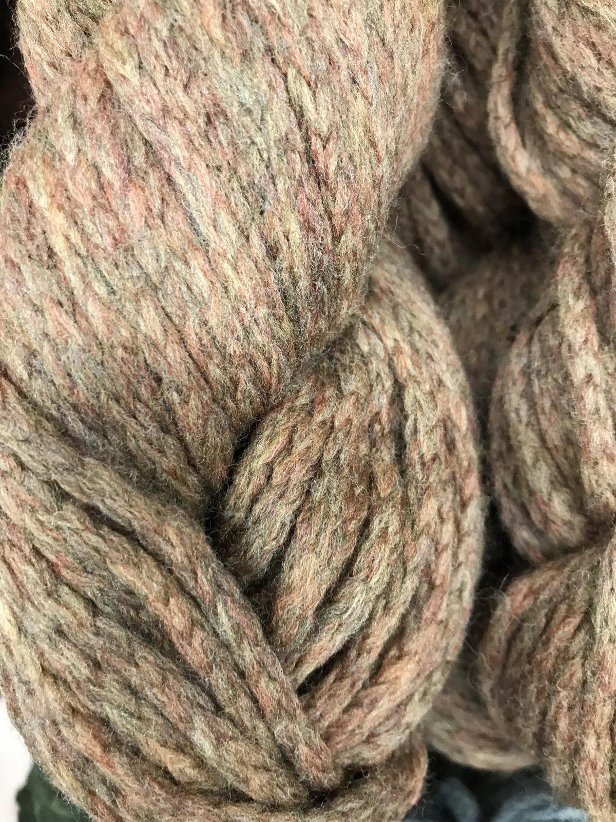 Pinenut 1721 Mirasol Ushya 98/2 wool/poly 114y, 2.25sts=1on #15US