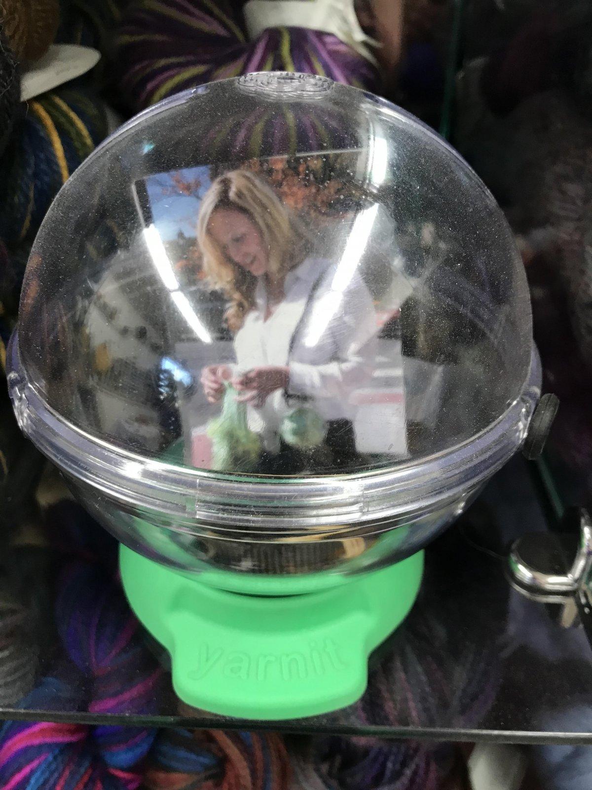 Yarnit Portable Yarn Bowl Green, Made in USA