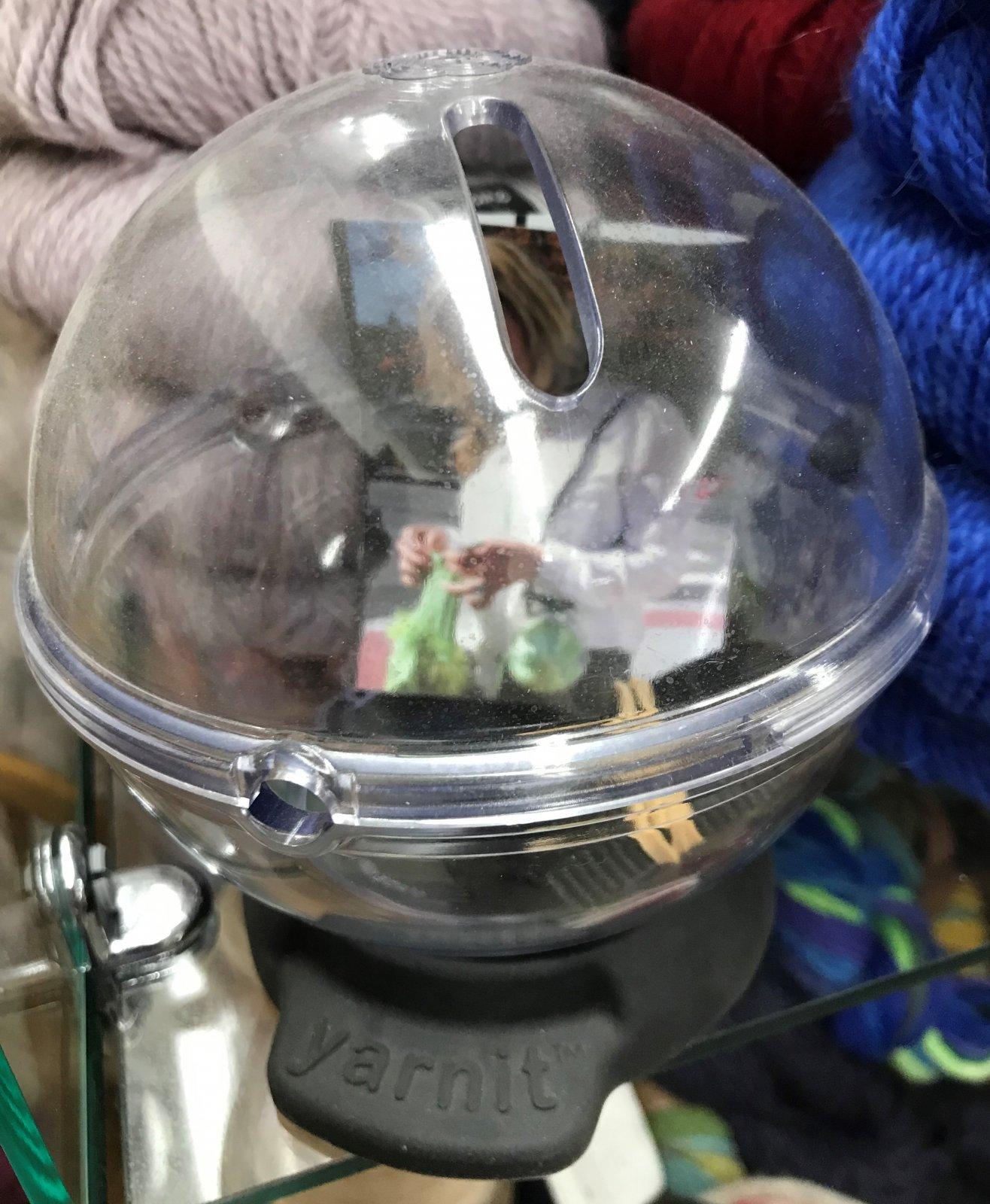 Yarnit Portable Yarn Bowl Black, Made in USA