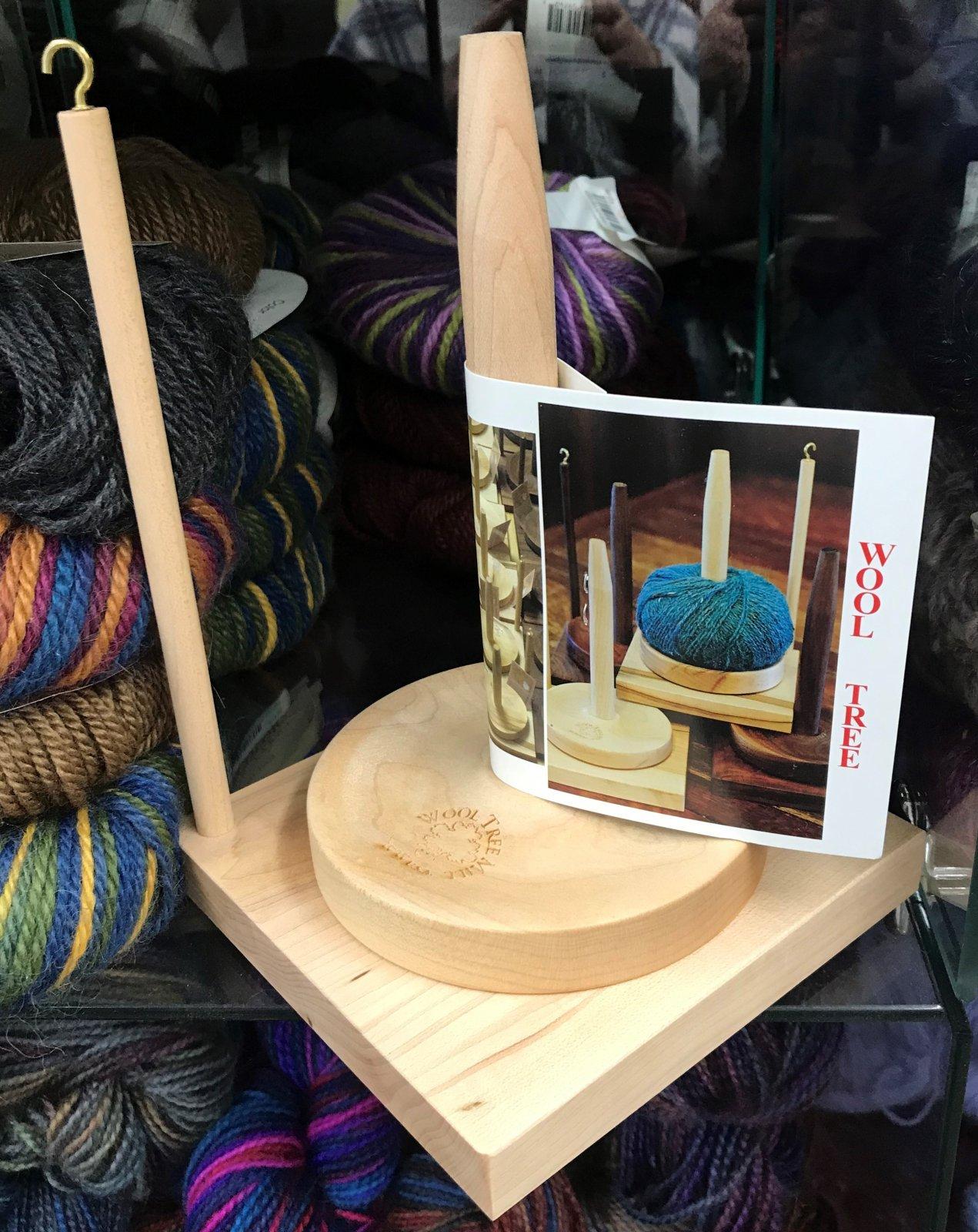 Yarn Tree with Yarn Guide Birch Made in USA