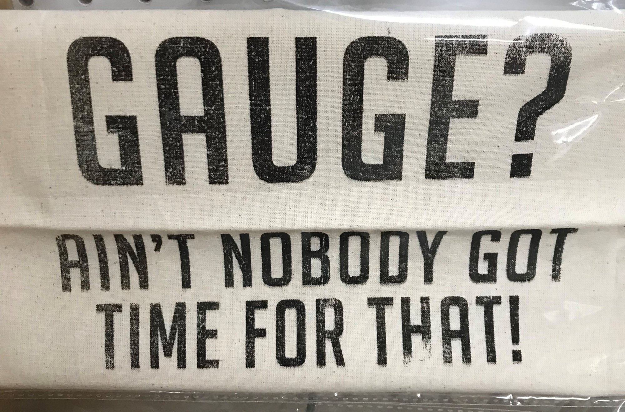 Gauge? Project Bag Light Canvas