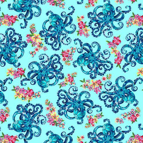 Blooming Ocean Octopus's Garden