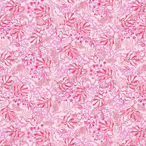 Blooming Ocean Seaweed Pink