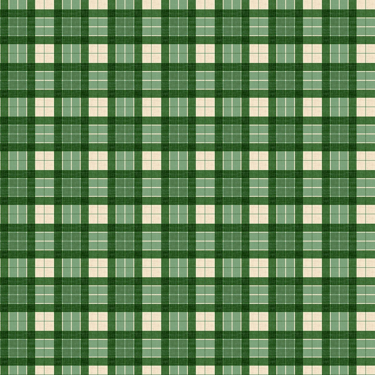 Evergreen Farm - Green Plaid