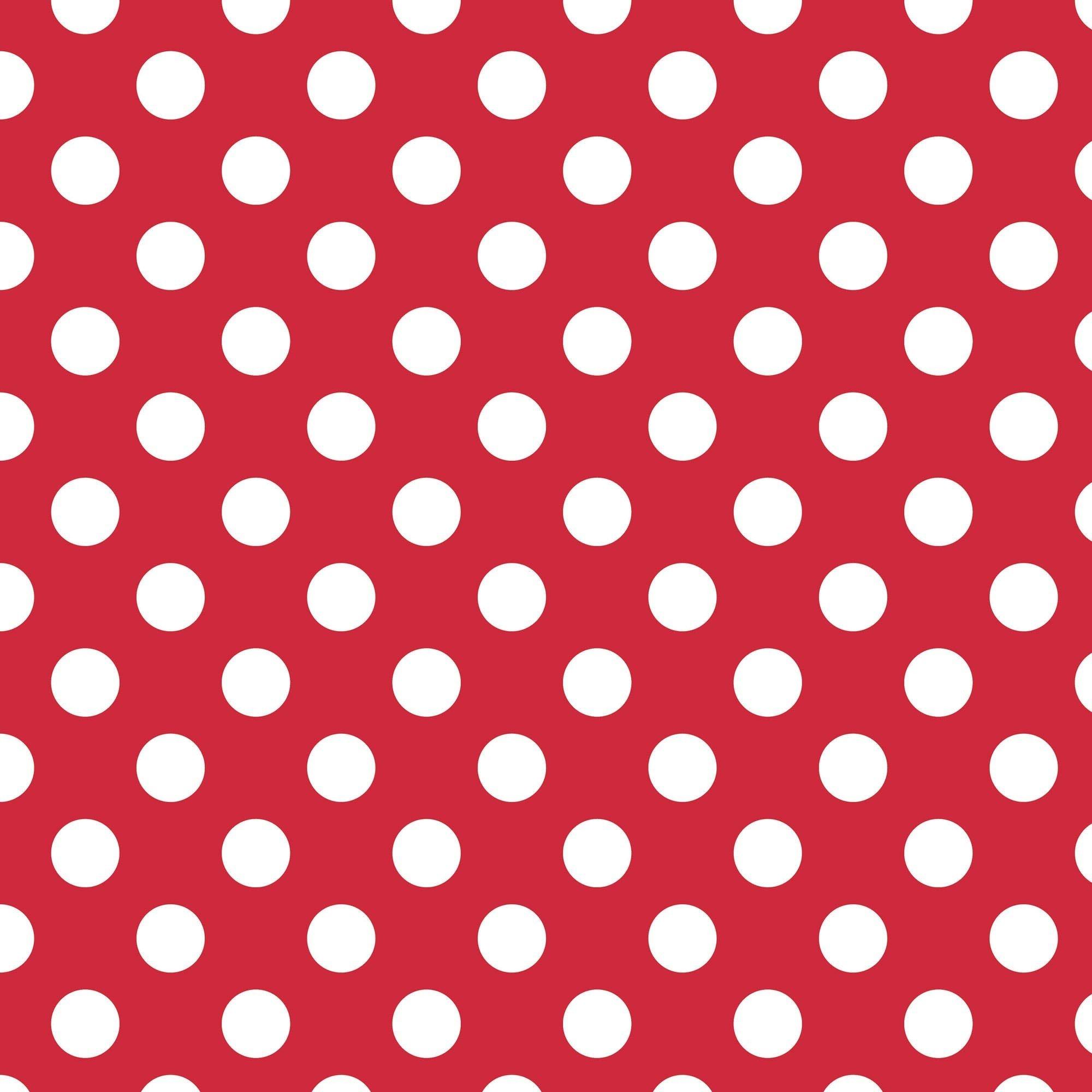 Medium Dot Red
