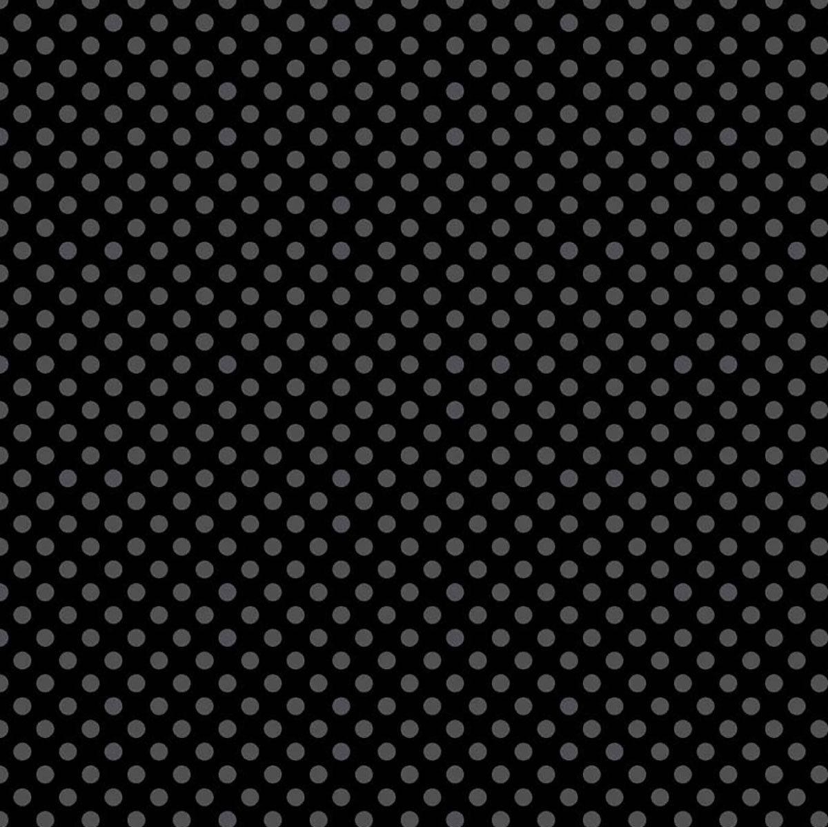 Medium Dot Tone on Tone Black