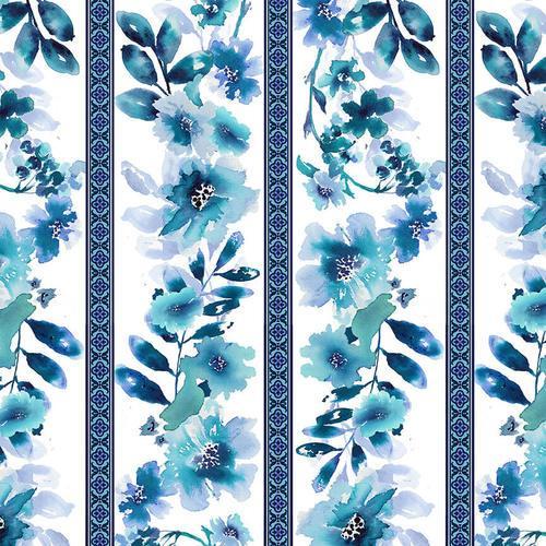 Midnight Sapphire - Wallpaper Stripe