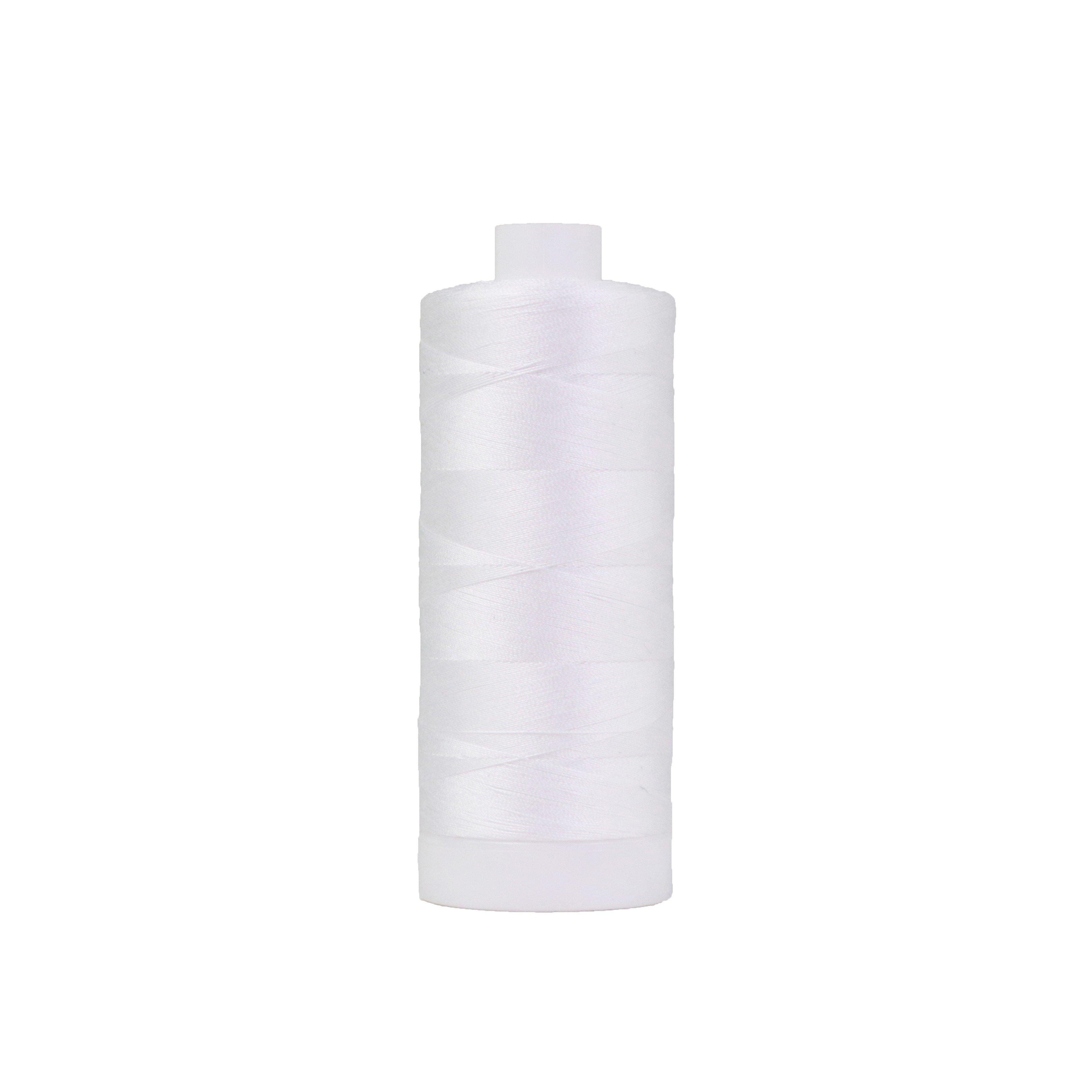 Pima Cotton Thread 50 wt Bright White