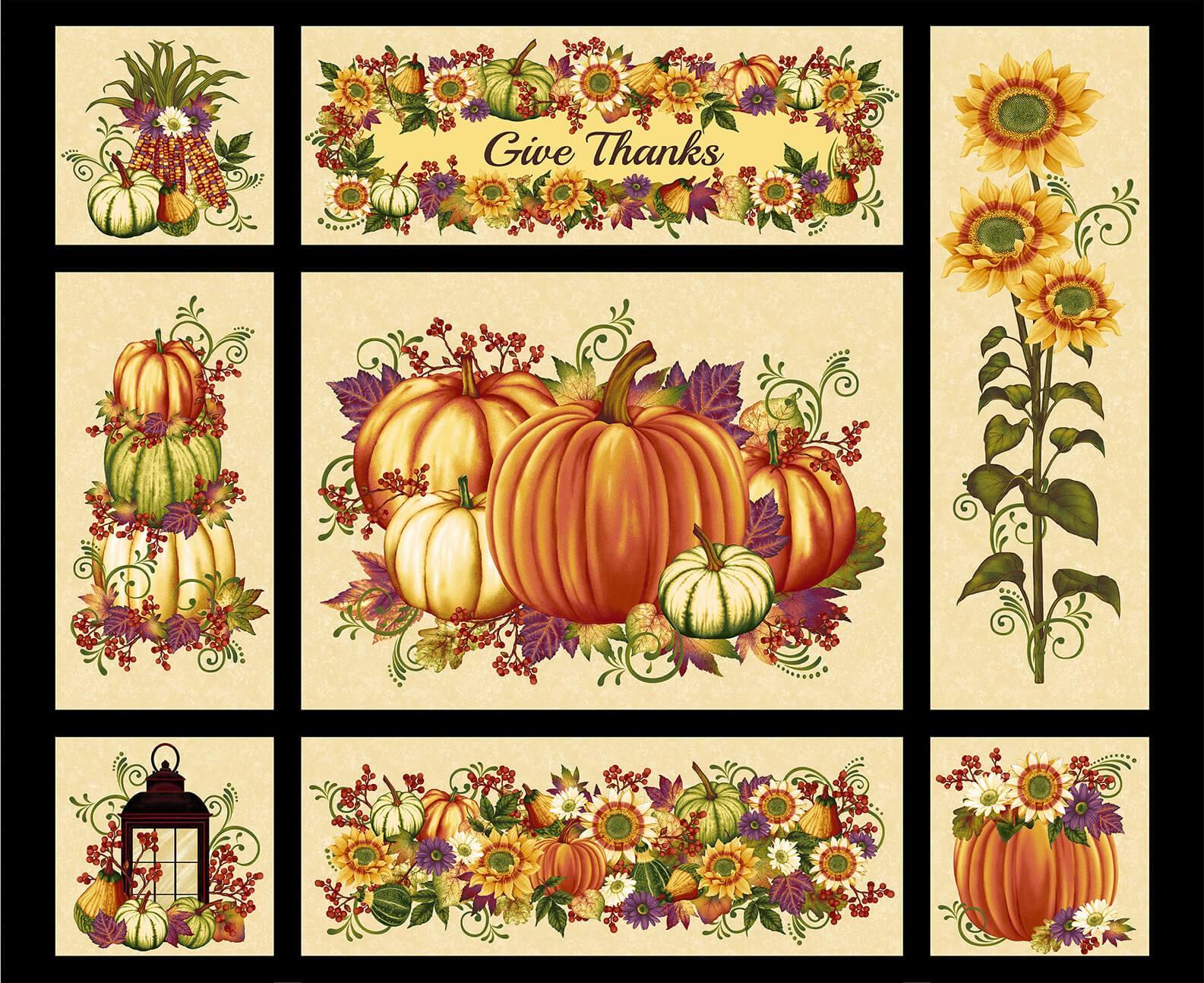 Pumpkin Harvest Harvest Panel Cream