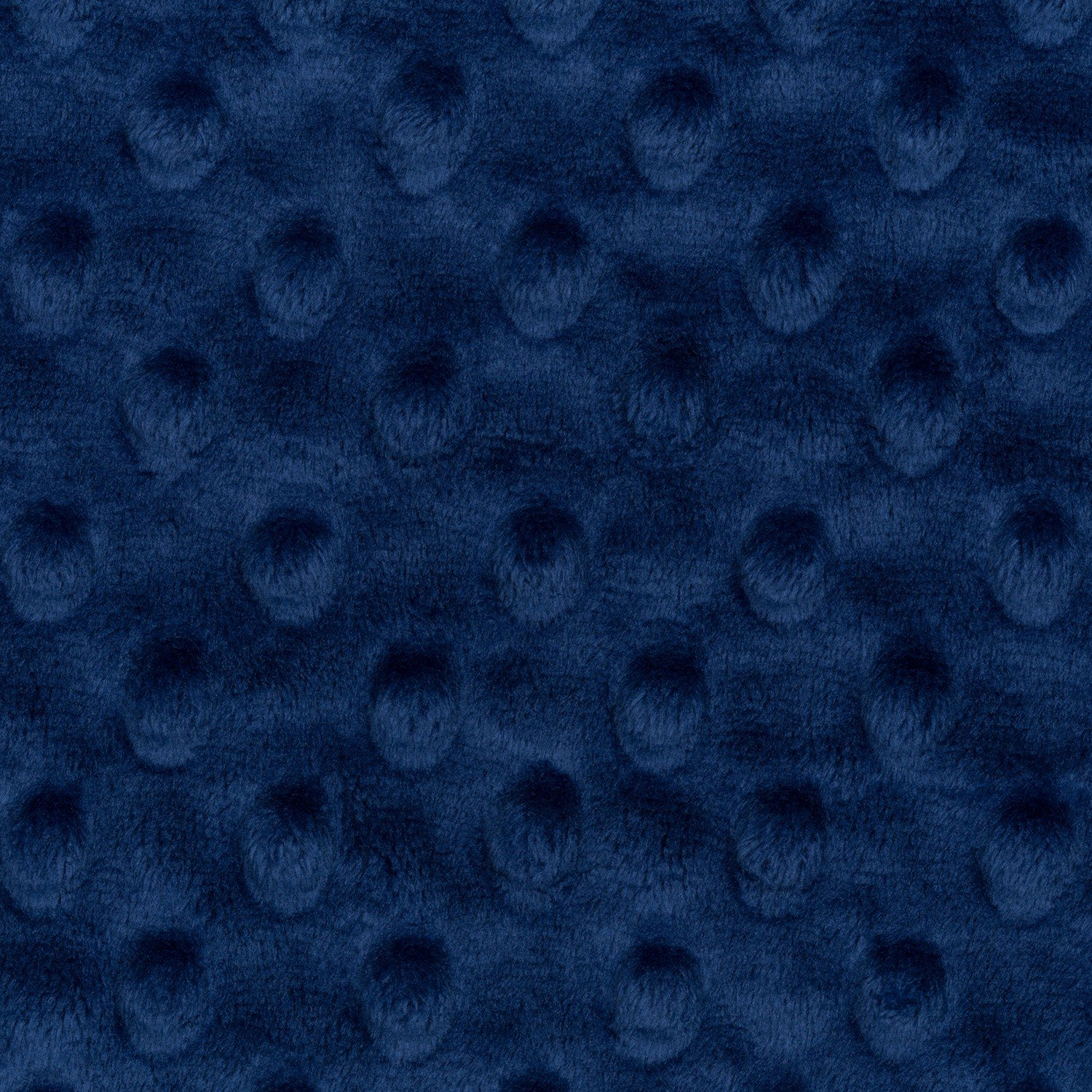 Shannon Cuddle Dimple Minky - Midnight Blue