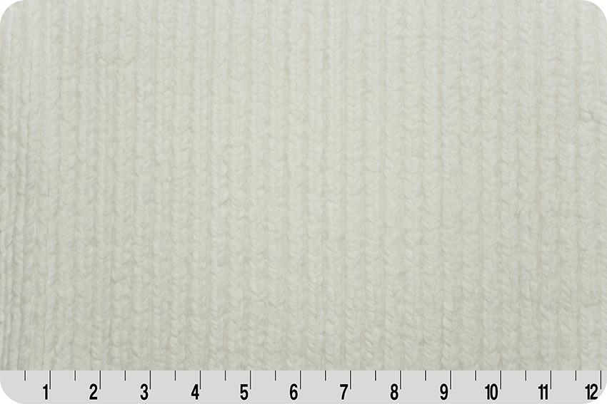 Shannon Luxe Cuddle Chenille Minky - Natural
