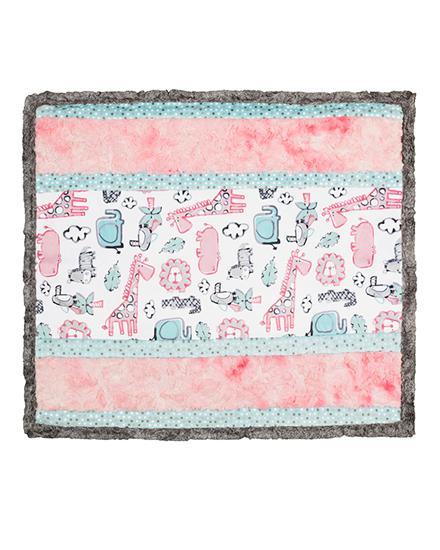 Wee Ones Cuddle Kit - Lion Around - Pink