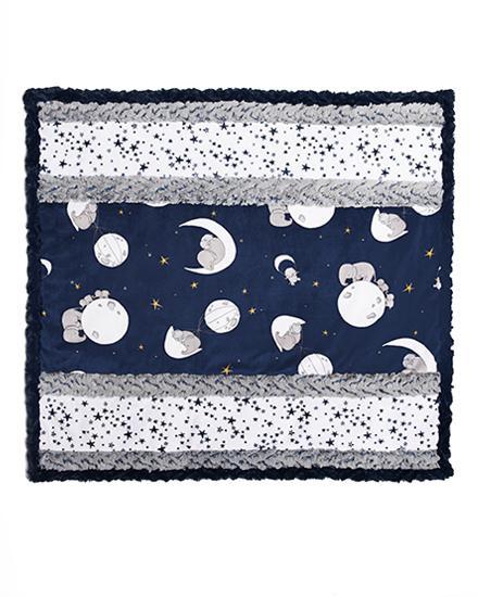 Wee Ones Cuddle Kit - Moonwalk - Navy