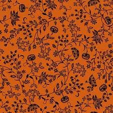 Spooky Night - Pumpkin Vine Orange