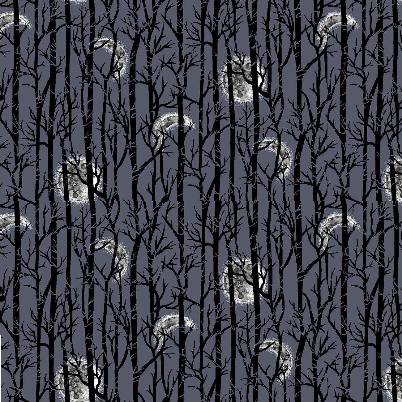 Spooky Night - Moonlight Trees