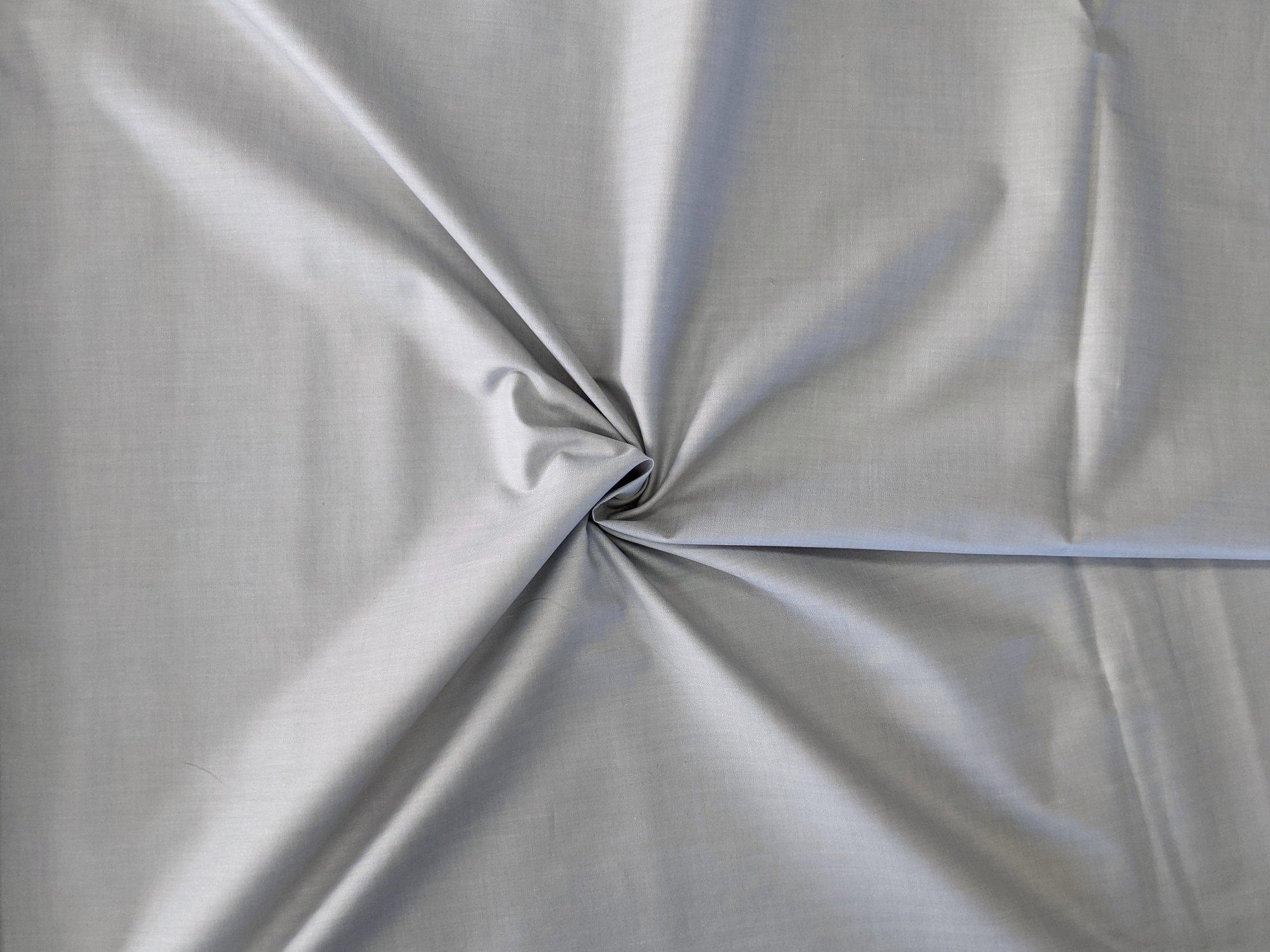 HMS Cotton Shirting - Light Grey