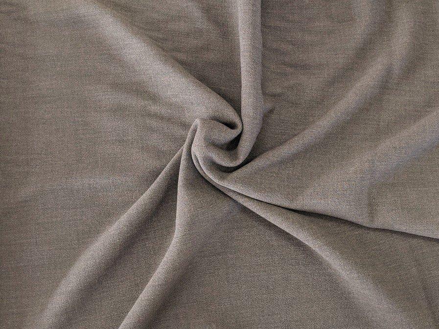 Wool - Brown Crepe