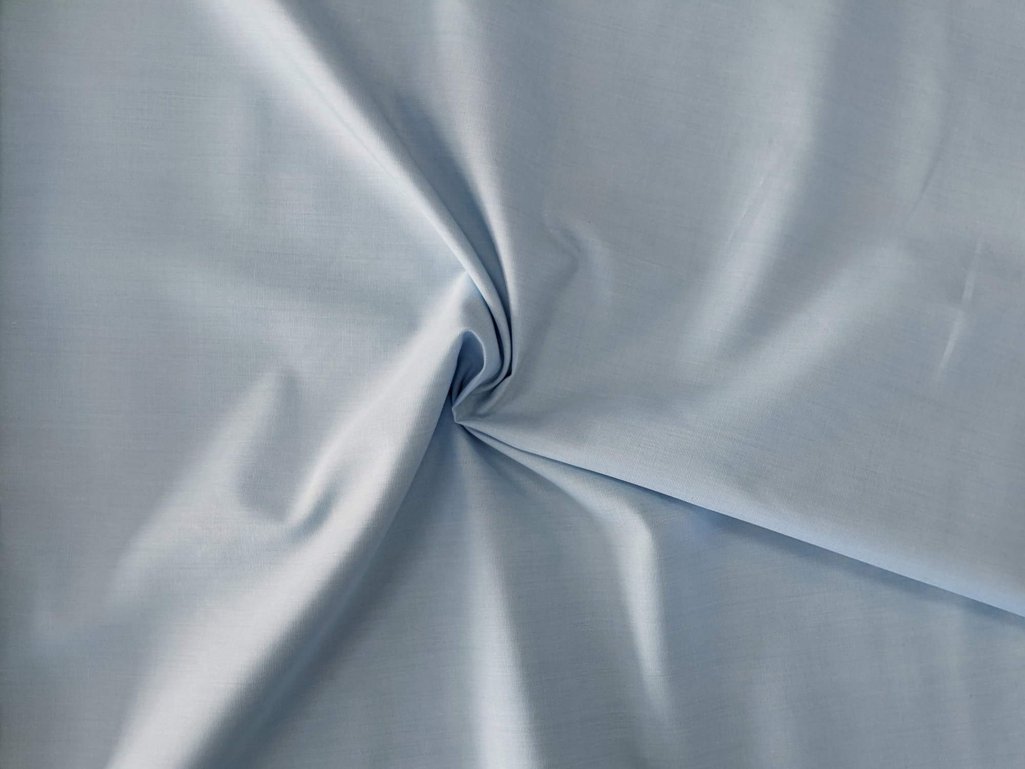 Cotton Shirting - Sky Blue