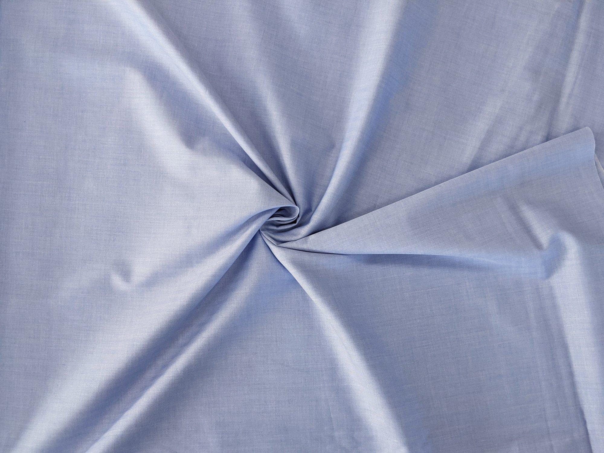 Cotton Shirting - Blue