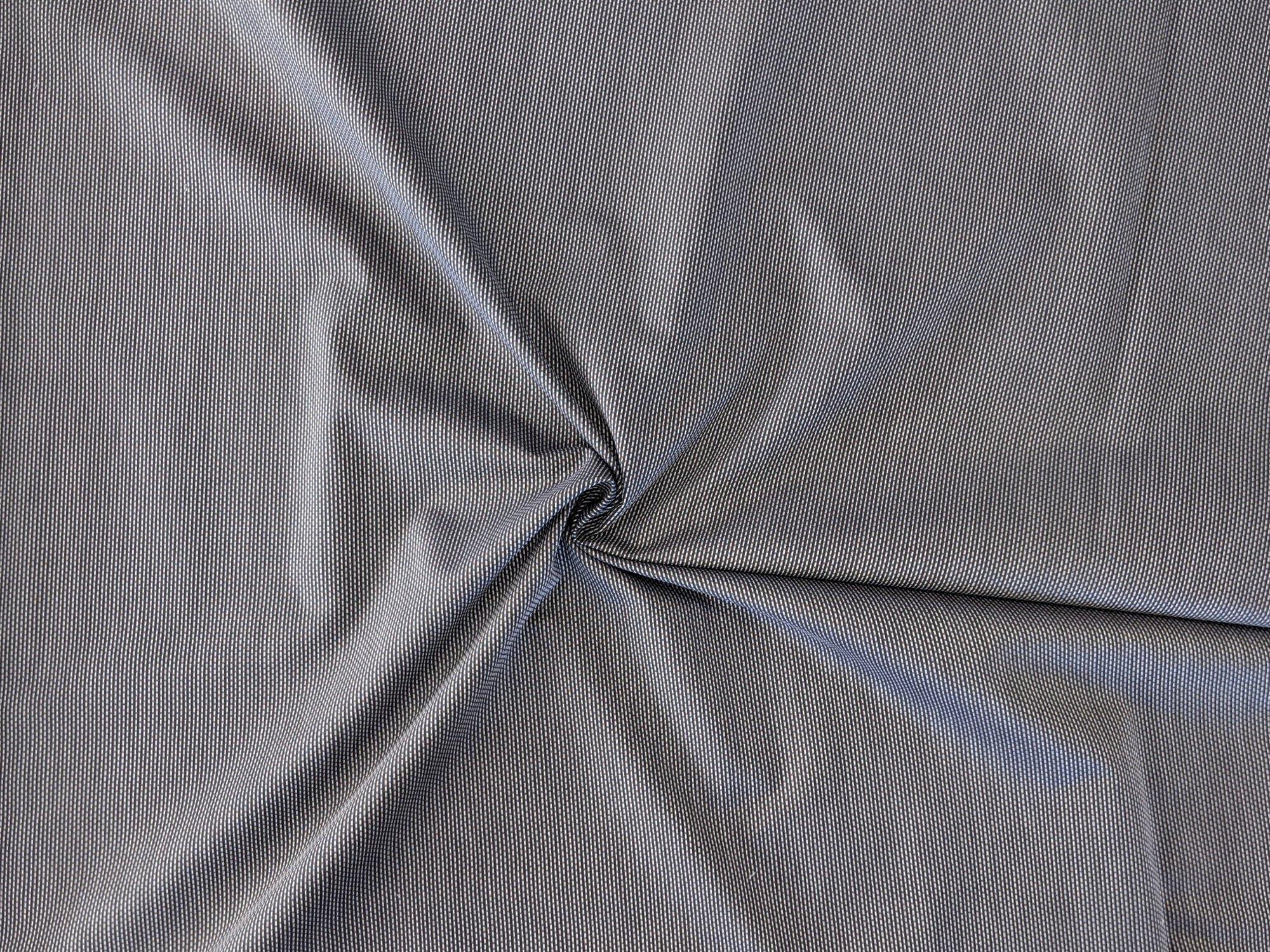 Cotton Shirting - Black Textured