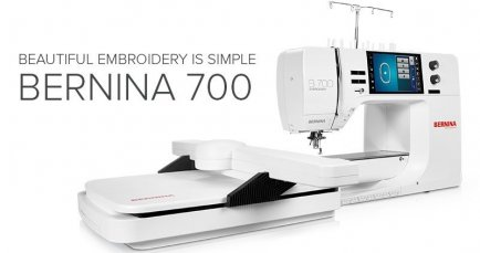 BERNINA 700 embroidery | Studio BERNINA