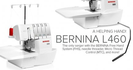 l460 BERNINA Serger | Studio BERNINA