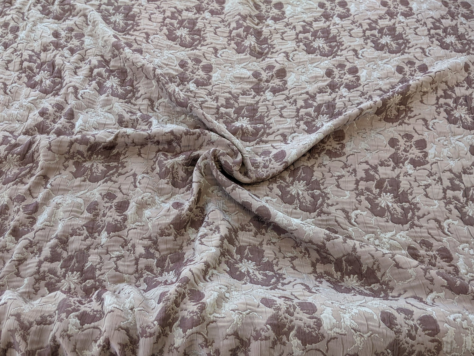 Floral Pattern - Shades of Brown