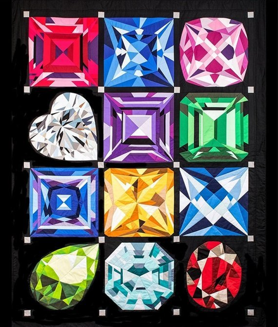 The Birthstone Series Gem Quilting