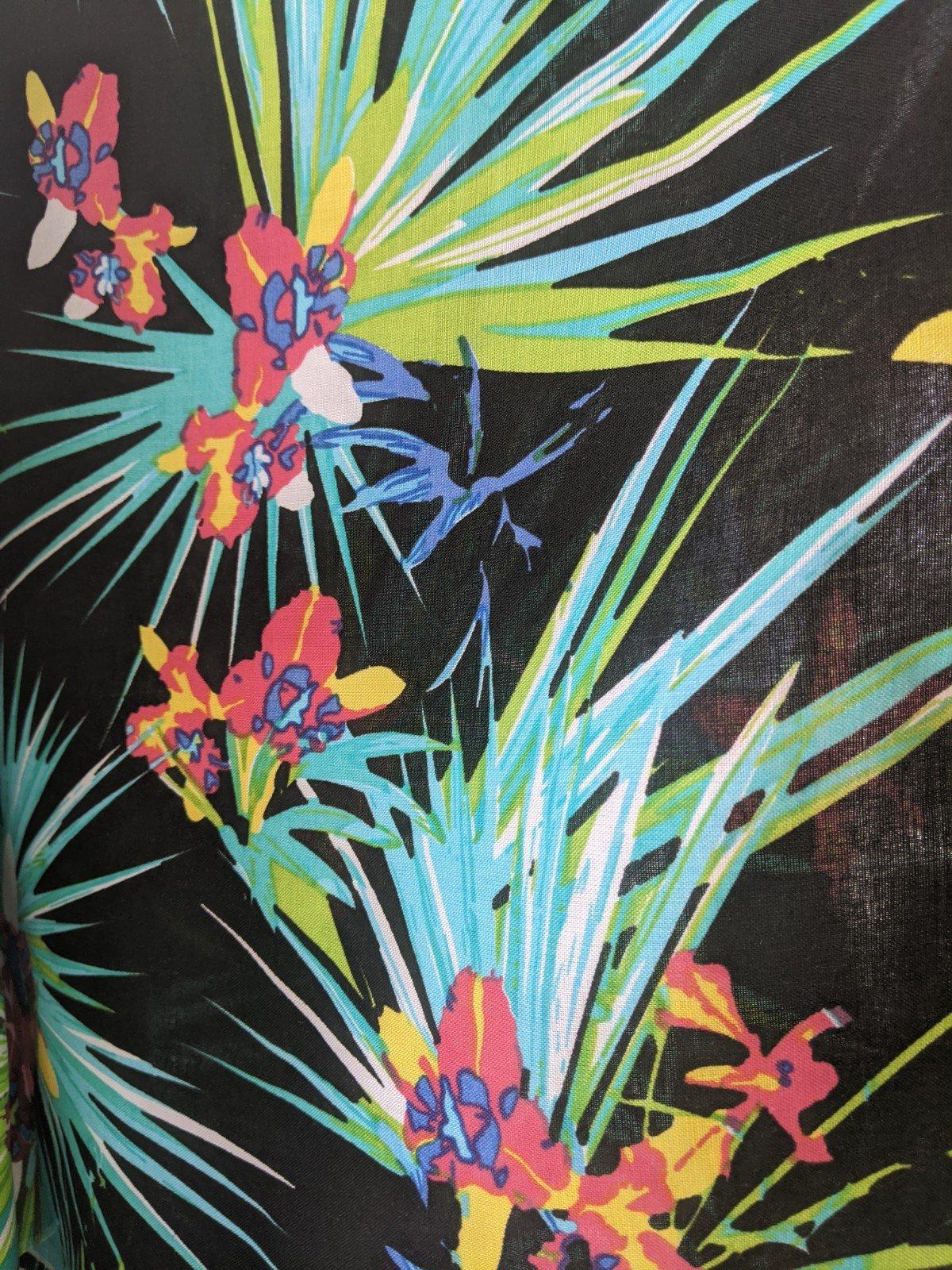 Rayon Challis Birds of Paradise (Multiple Colors)
