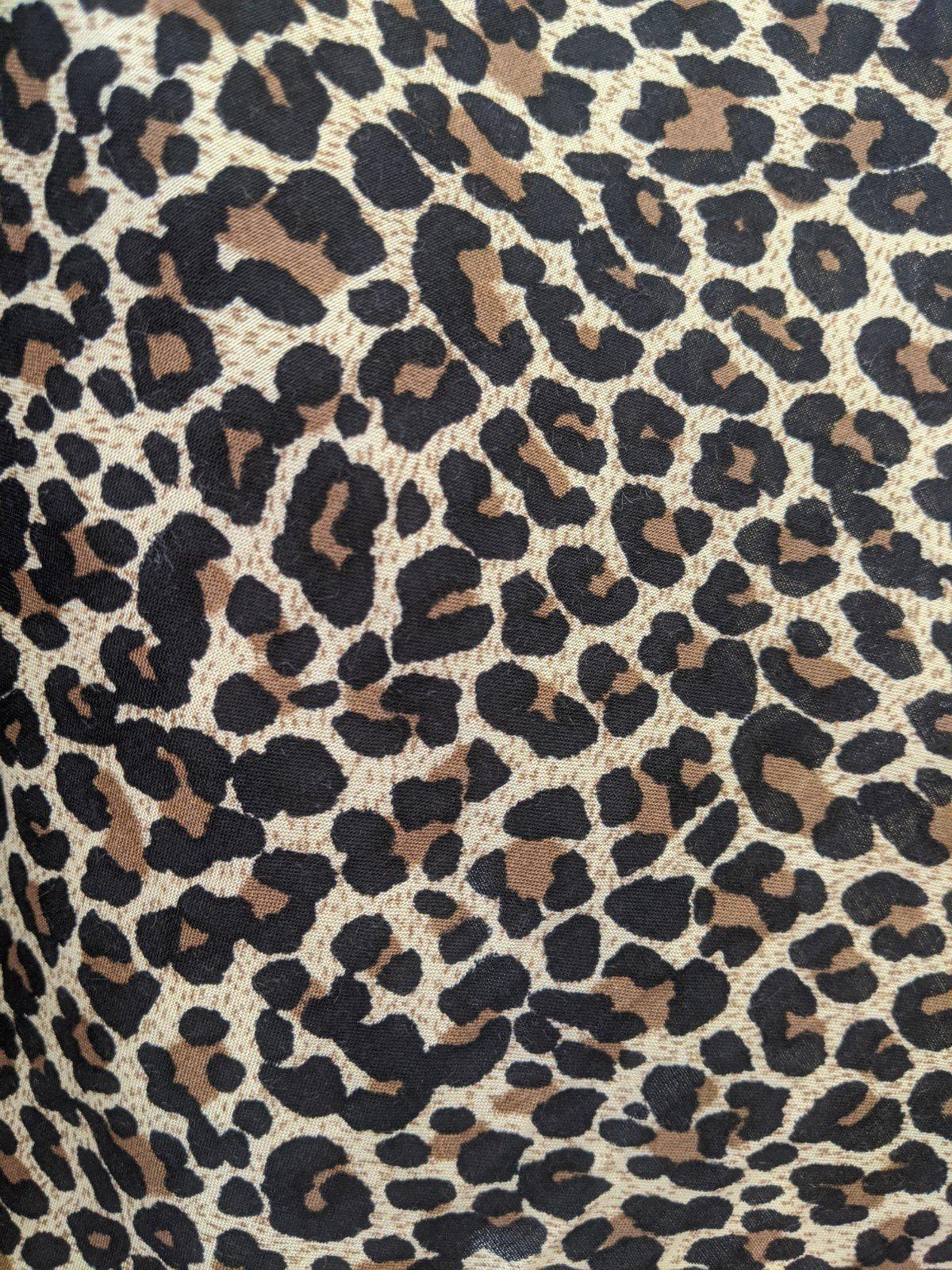 Leopard Print - 100% Rayon