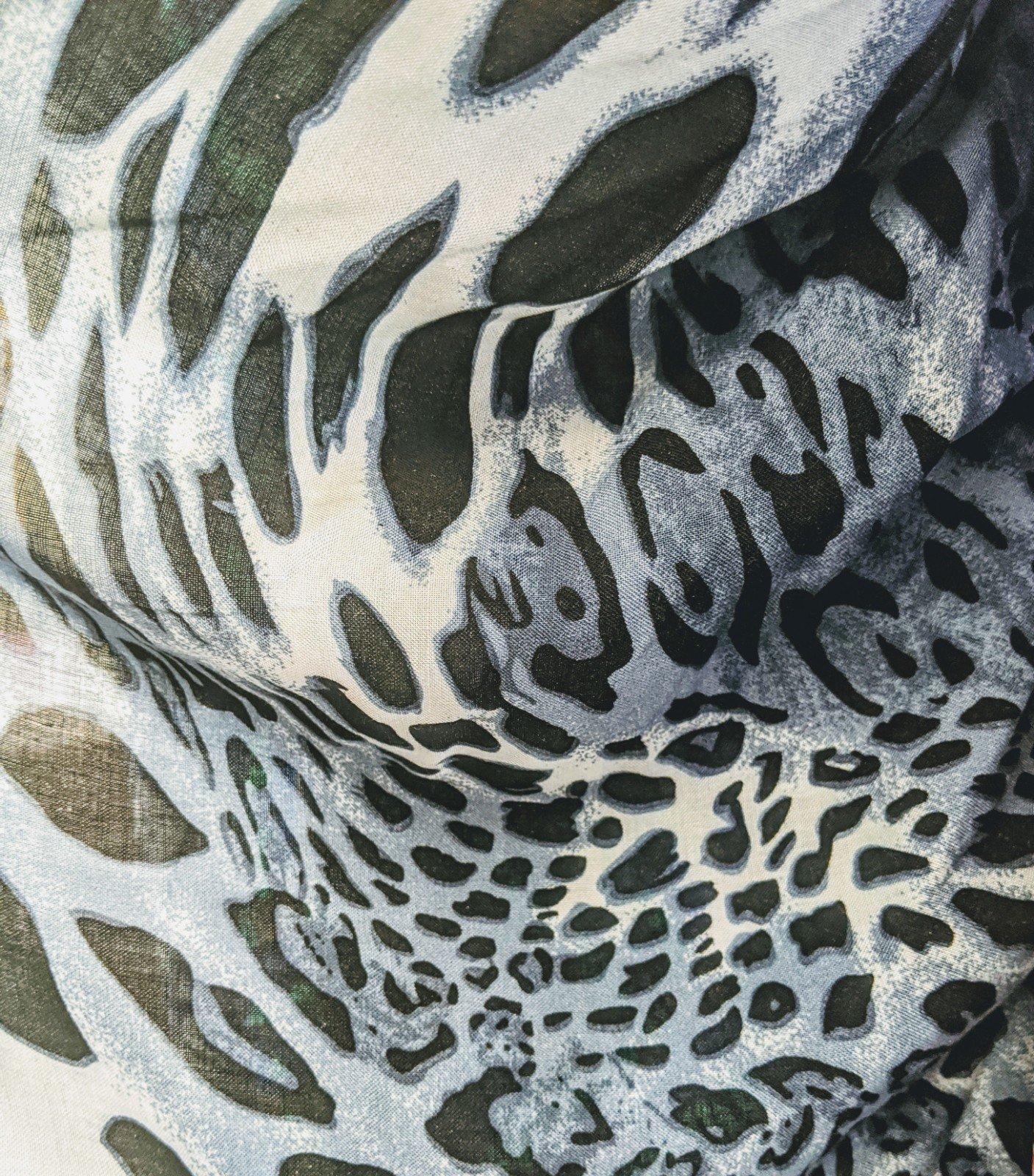 Leopard Print - Blue