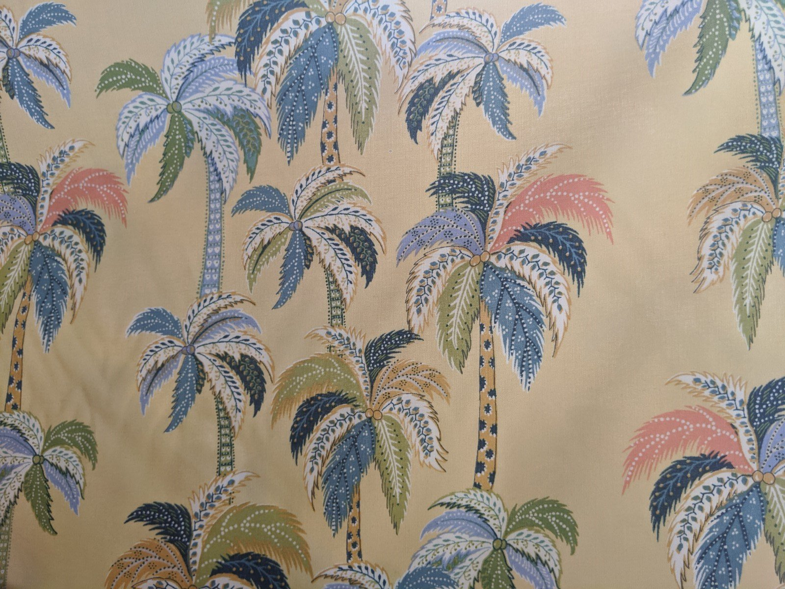 Palm Trees - Rayon Challis (Multiple Colors)