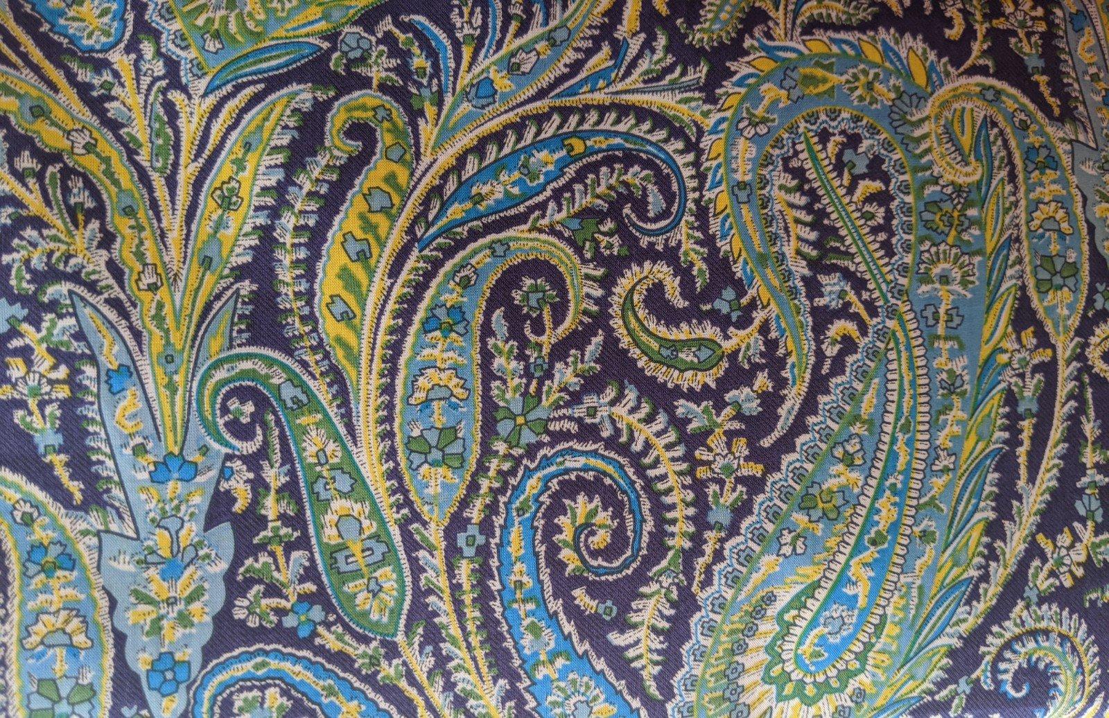 Liberty of London Cotton Lawn - Paisley Cool