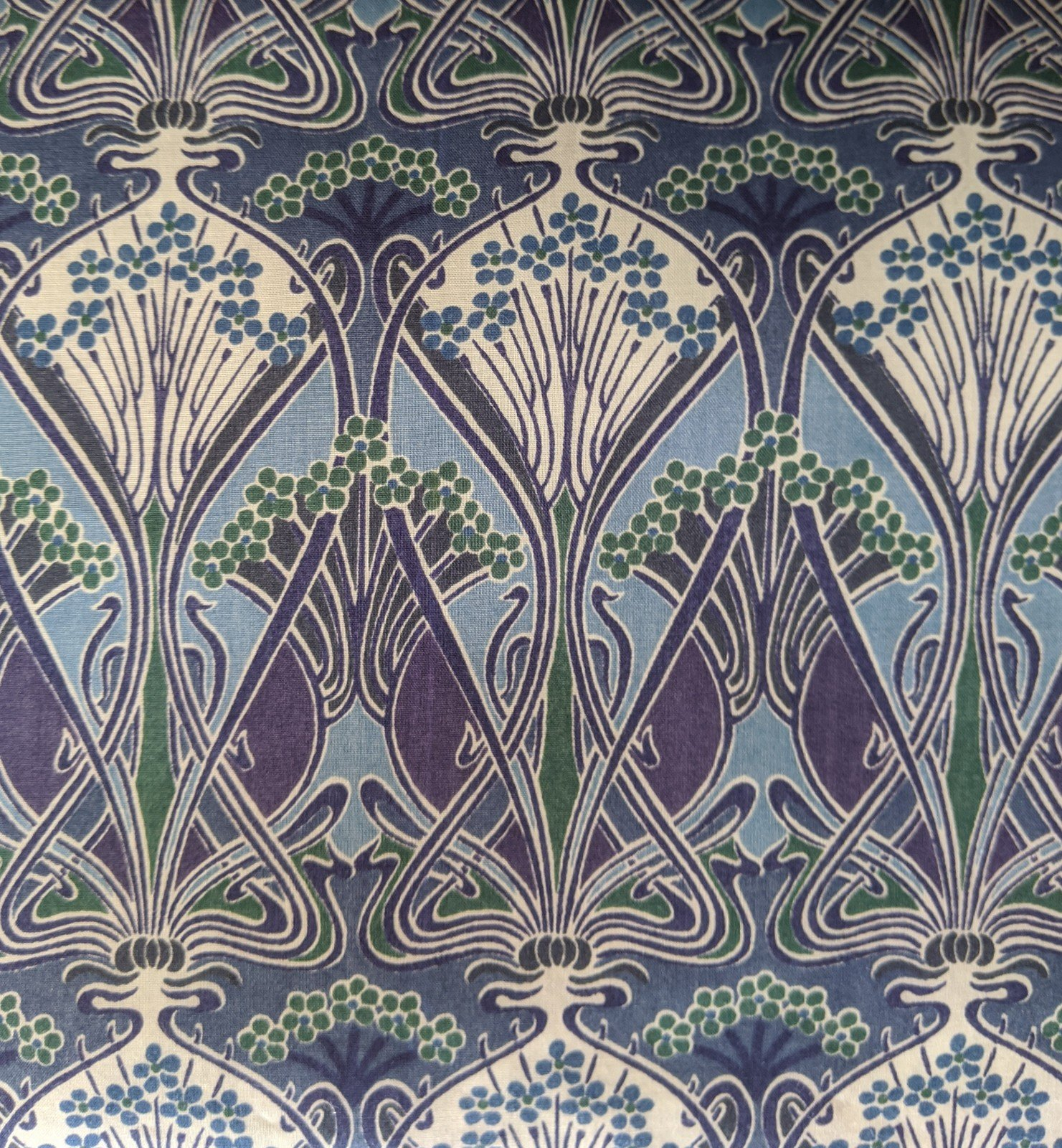 Liberty of London Cotton Lawn - Art Deco Trees