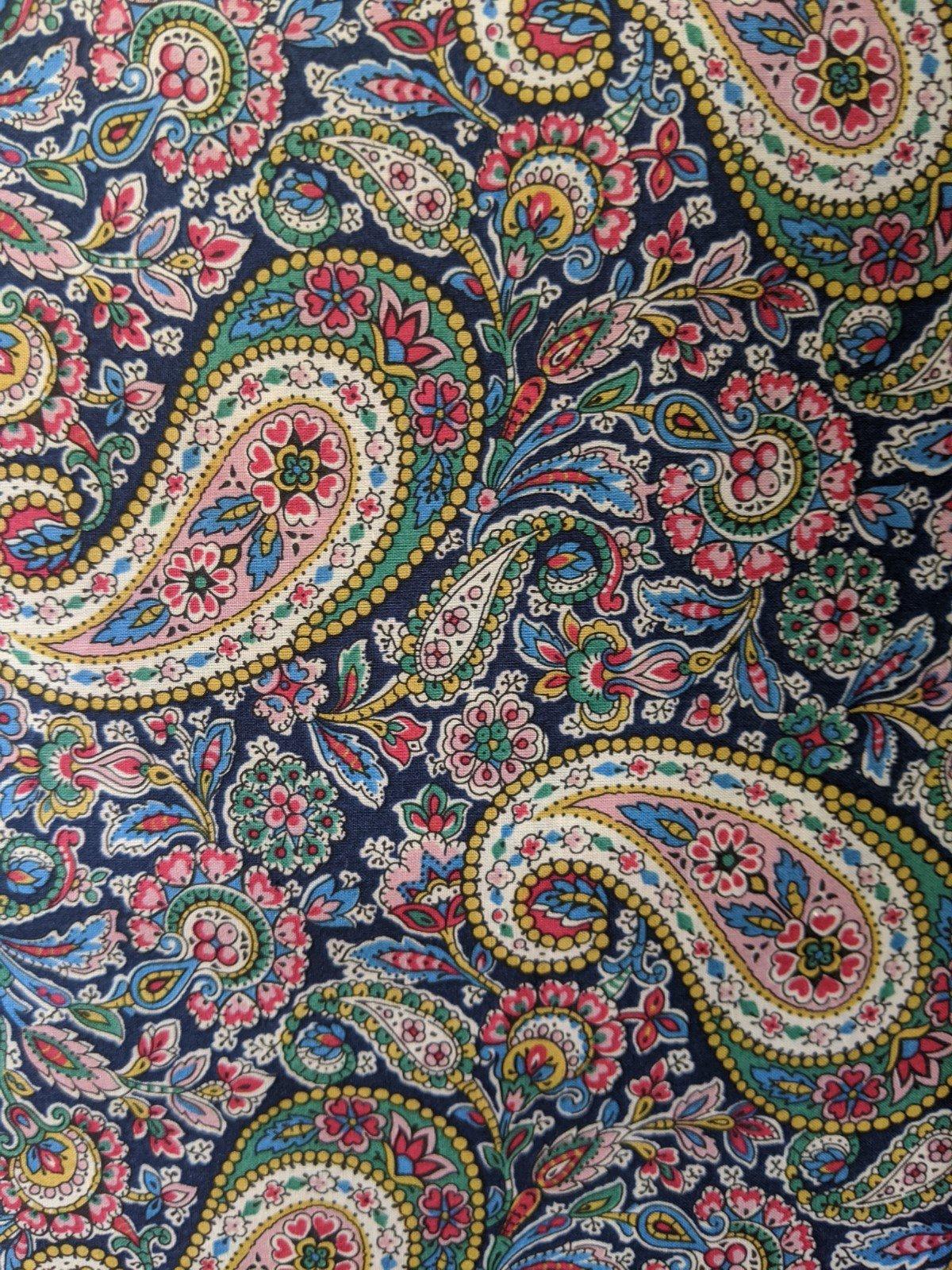Liberty of London Cotton Lawn - Bright Paisley