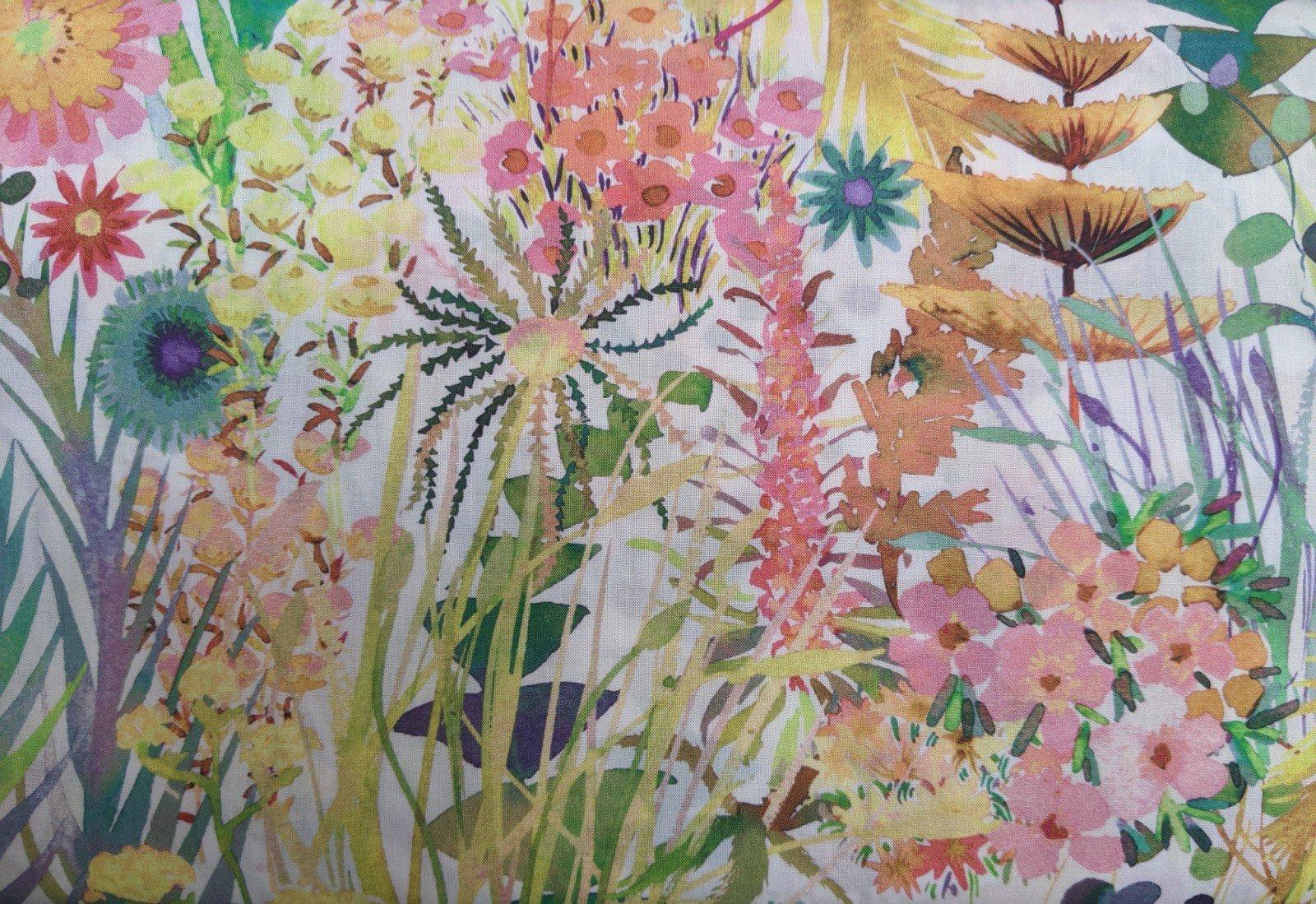 Liberty of London Cotton Lawn - Flower Garden Warm